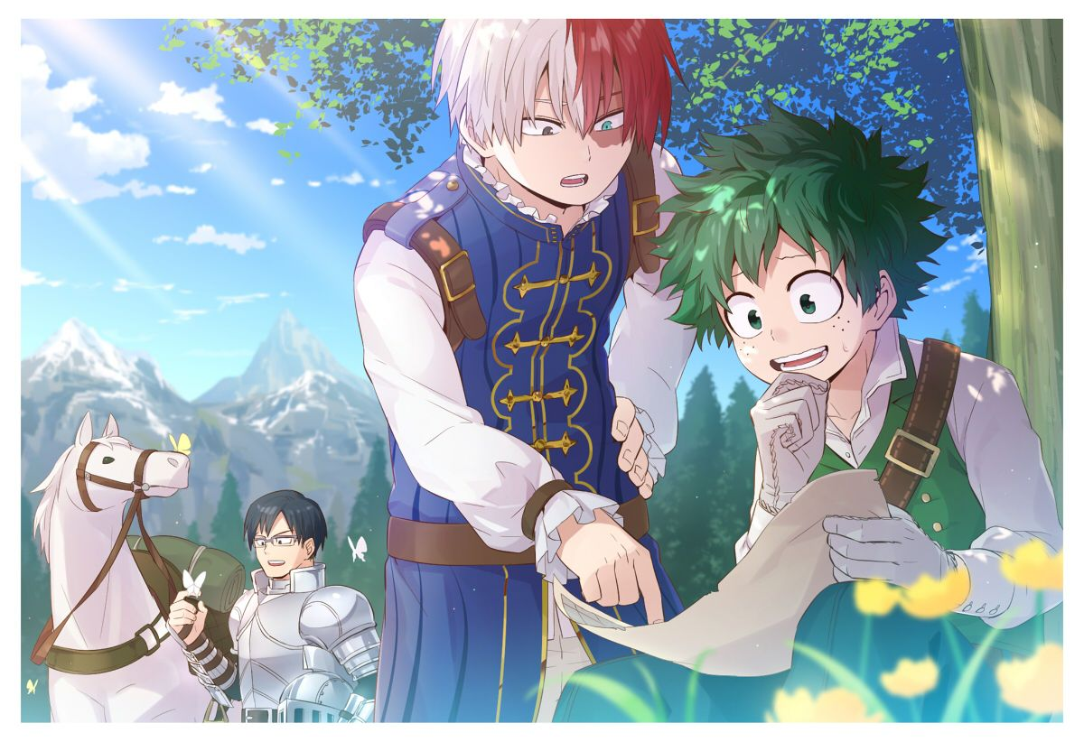 Tododeku Boku No Hero Academia Wallpapers Top Free