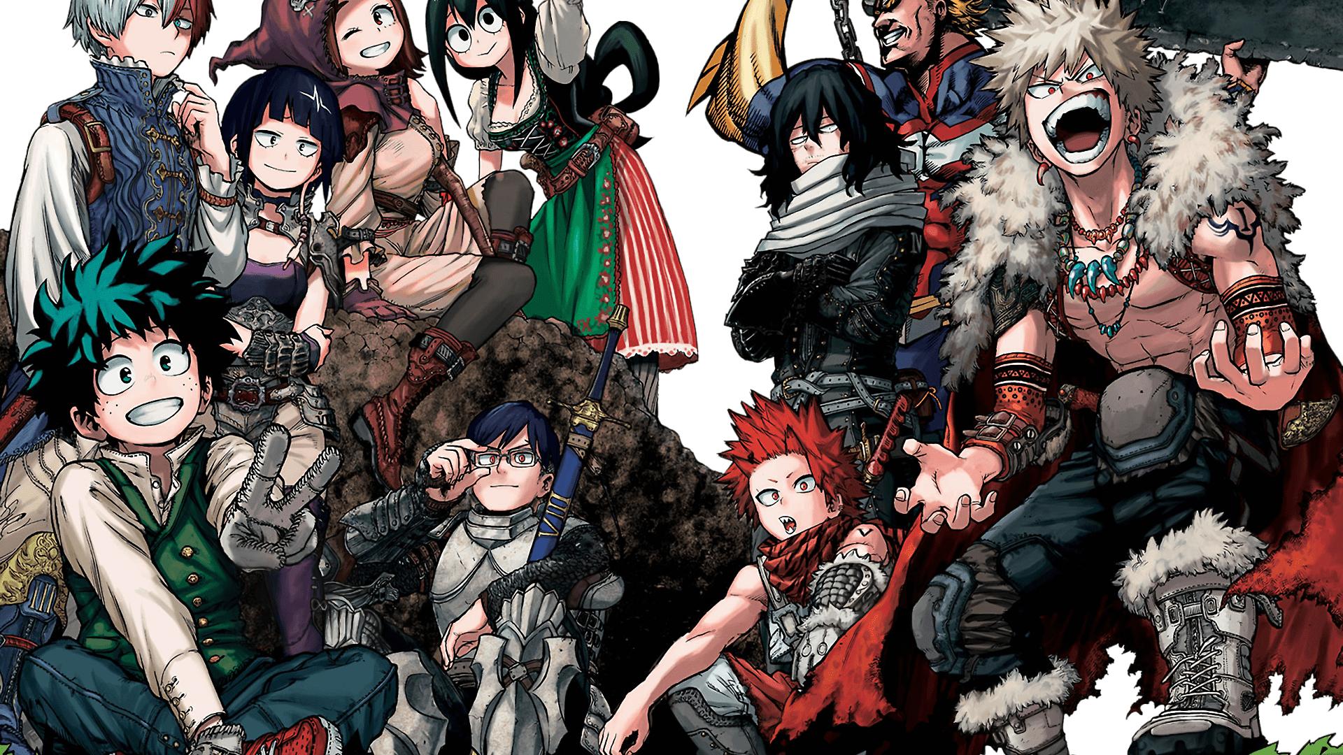 Tododeku Boku No Hero Academia Wallpapers Top Free