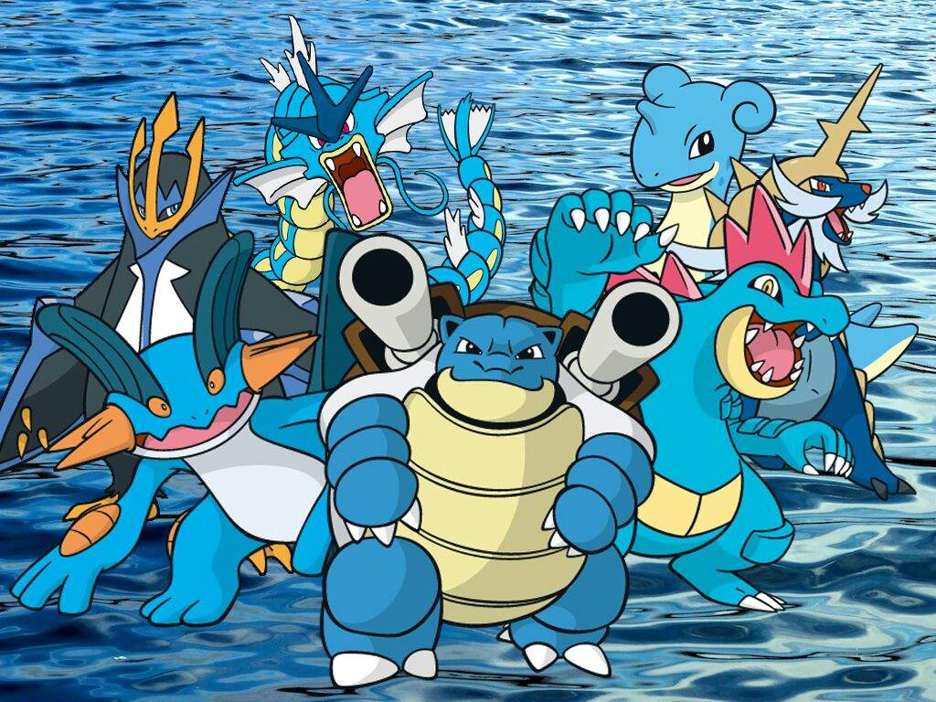 All Water Pokemon Wallpapers Top Free All Water Pokemon