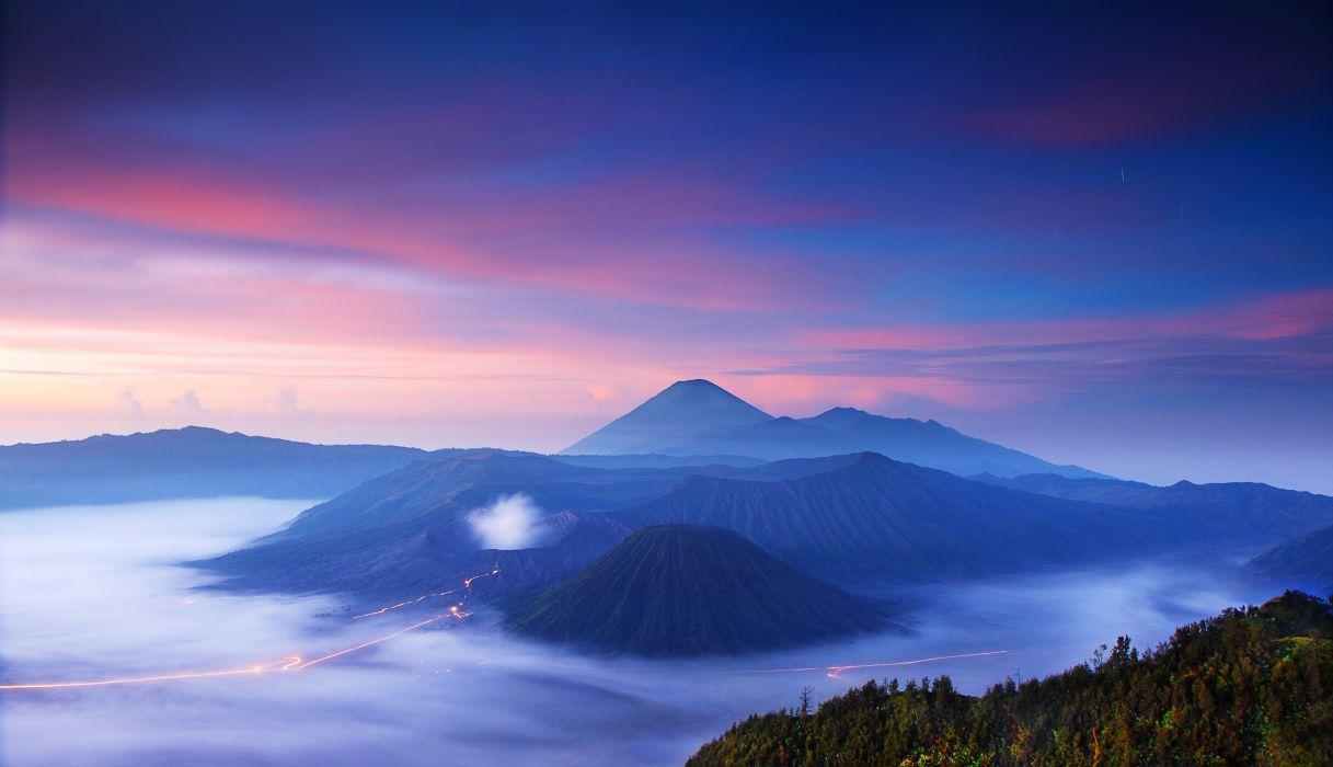 Wallpaper Hd Mountain Indonesia