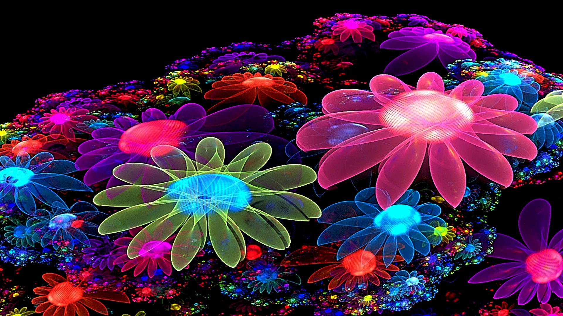Animated Beautiful Flowers Wallpapers For Mobile