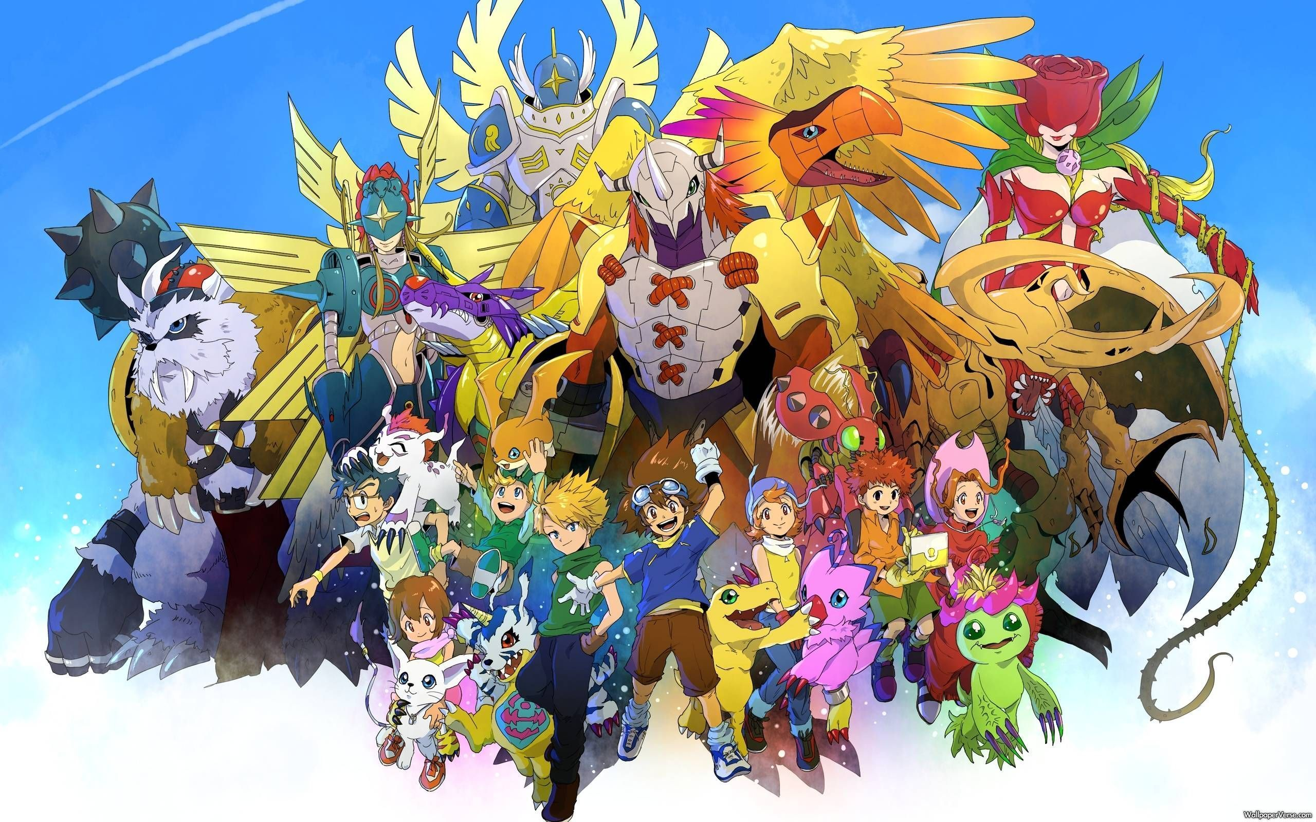 Digimon Adventure Wallpapers Top Free Digimon Adventure Backgrounds Wallpaperaccess
