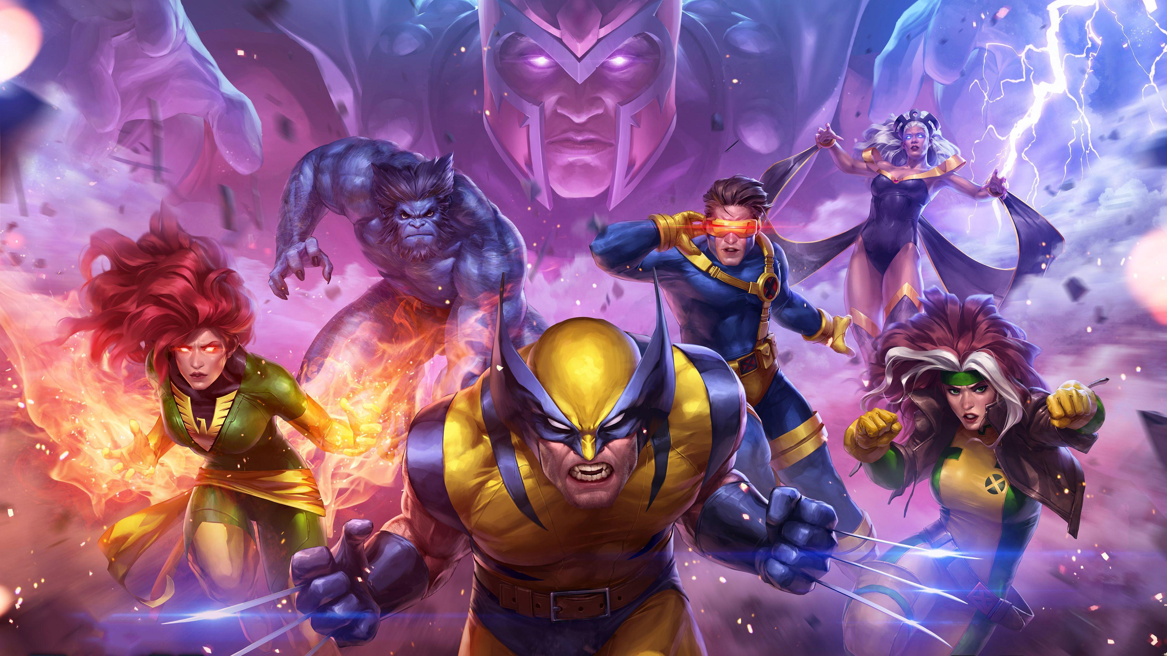 Marvel X Men Wallpapers Top Free Marvel X Men Backgrounds Wallpaperaccess
