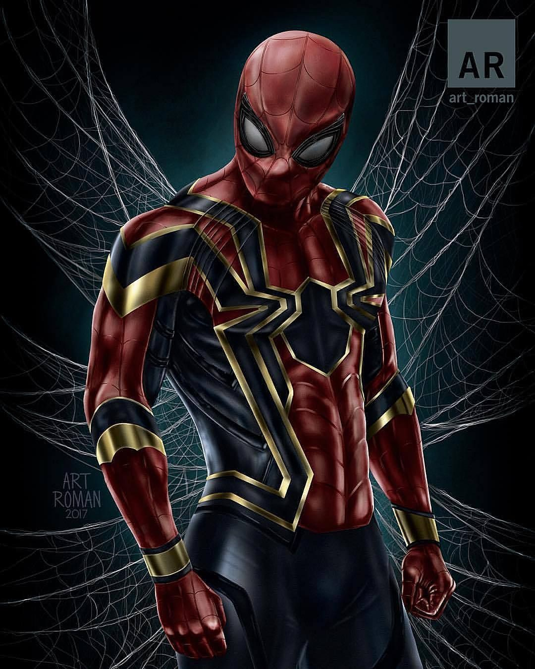 Iron Spider Wallpapers Top Free Iron Spider Backgrounds