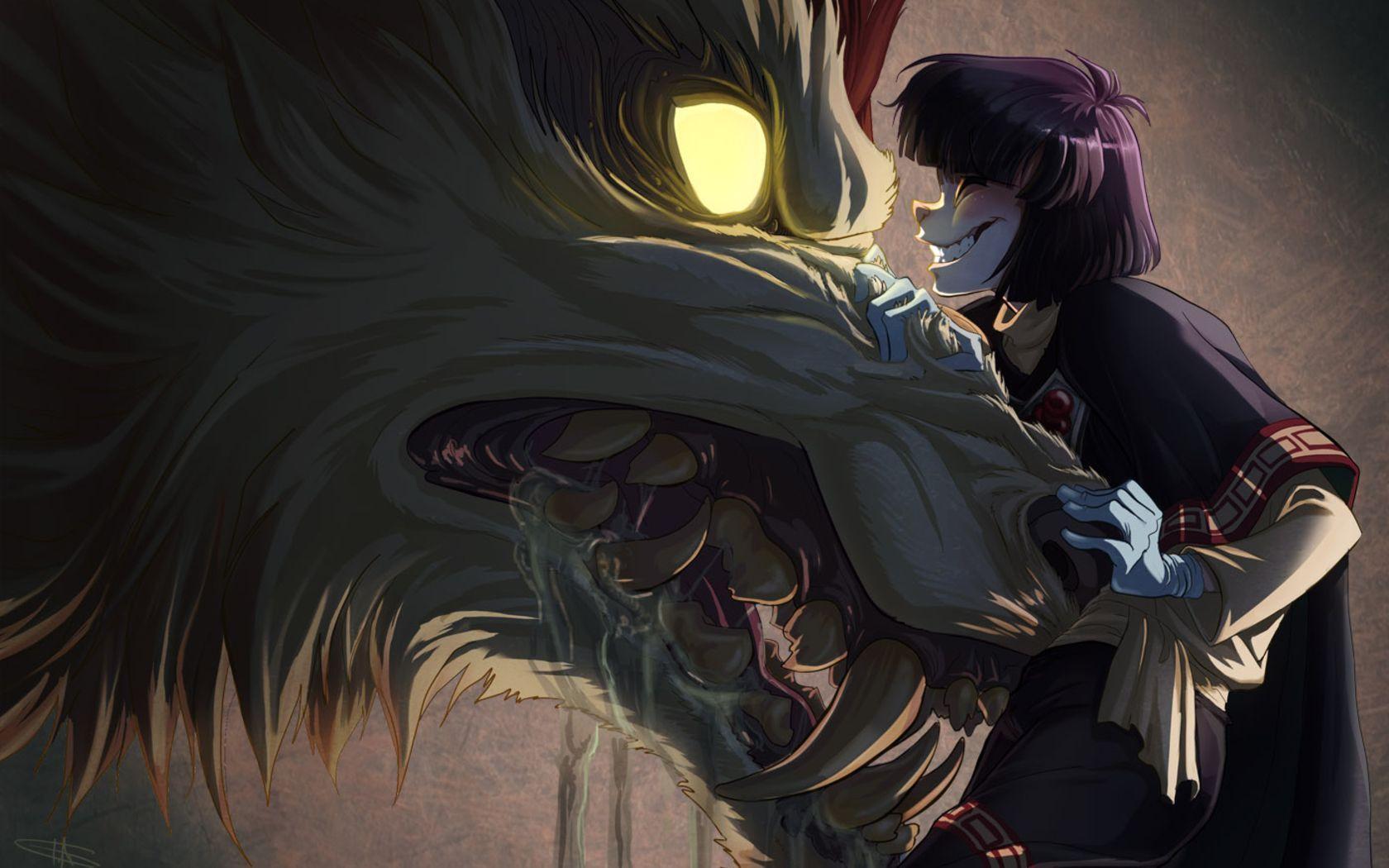 Anime Werewolf Wallpapers Top Free Anime Werewolf Backgrounds Wallpaperaccess
