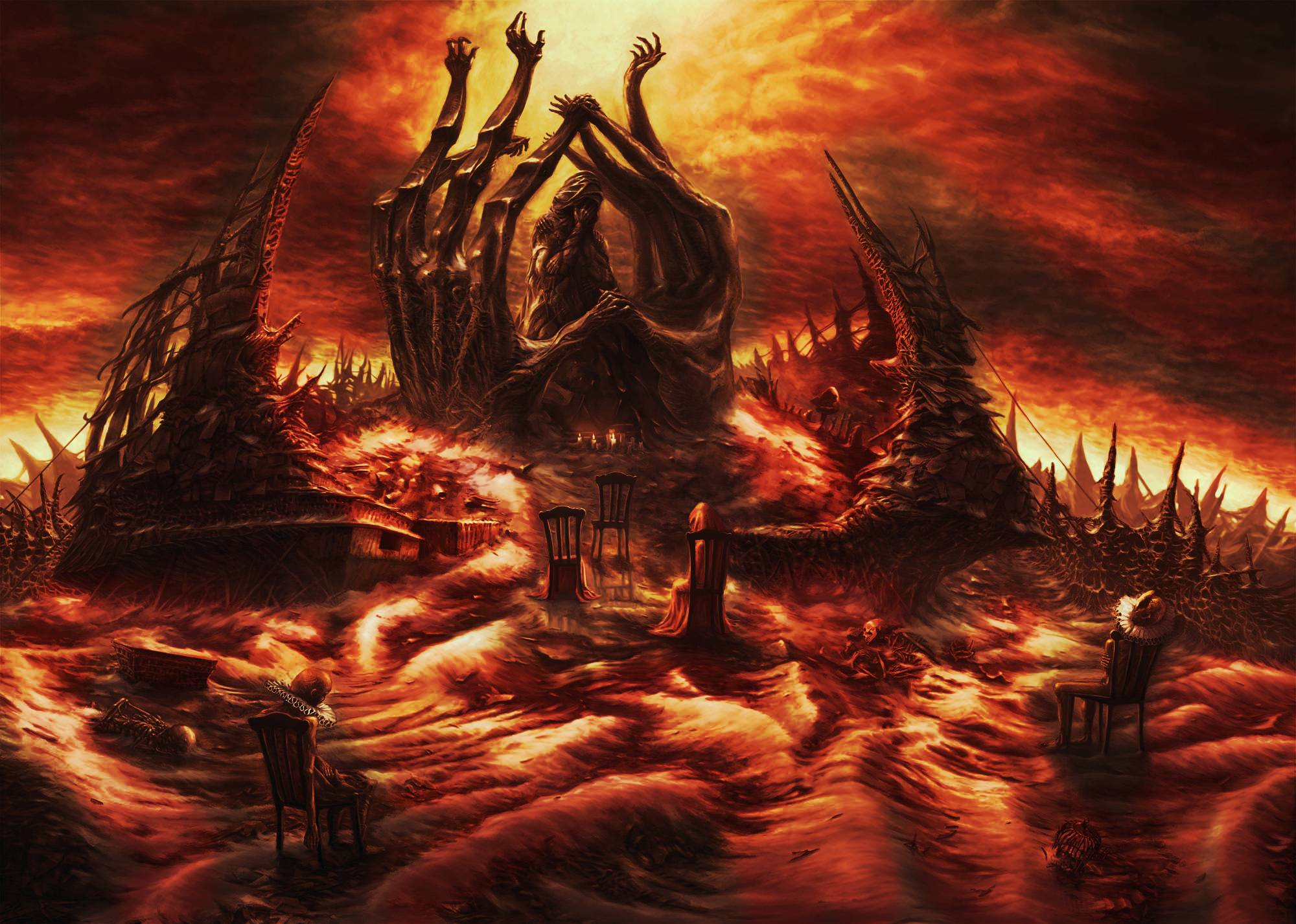 Hell Wallpapers Top Free Hell Backgrounds Wallpaperaccess