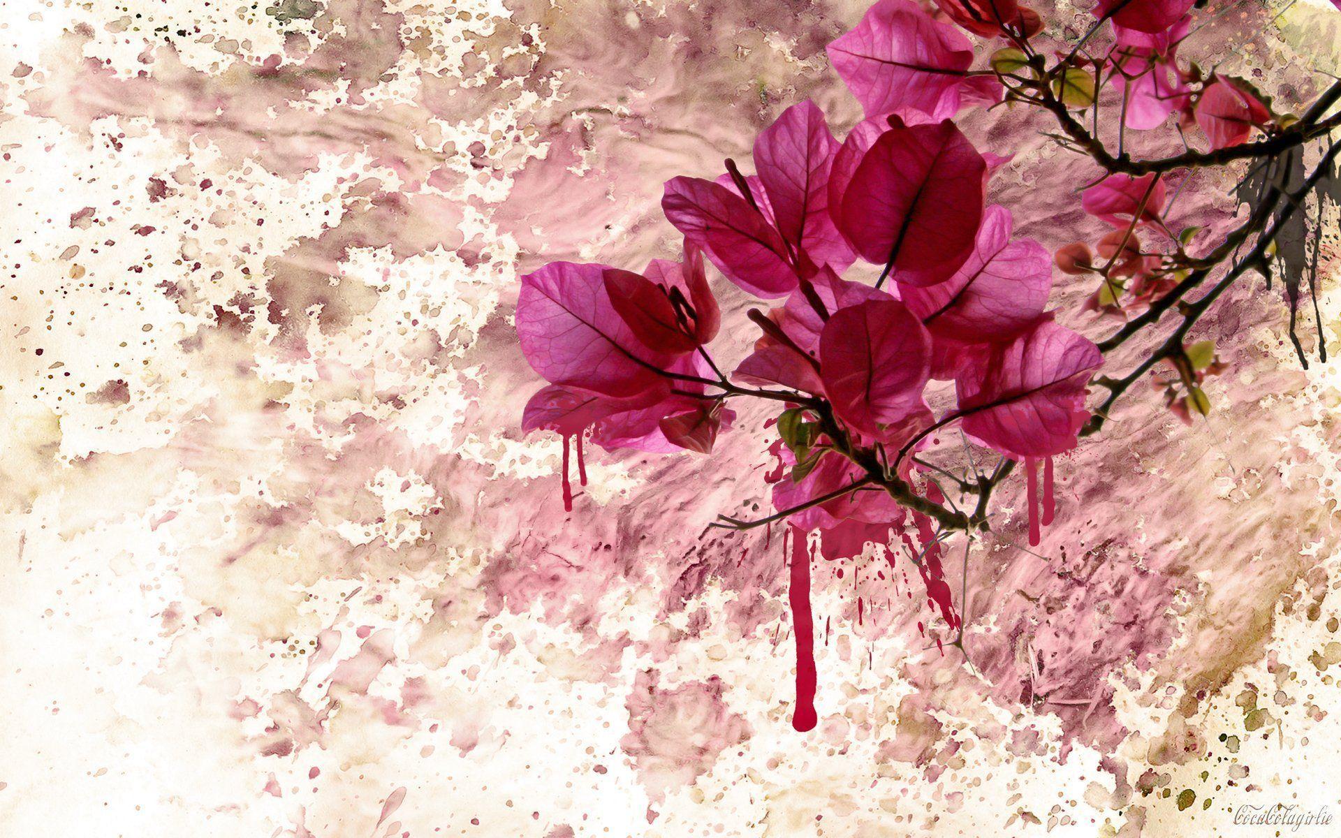 Flower Art Wallpapers - Top Free Flower Art Backgrounds - WallpaperAccess
