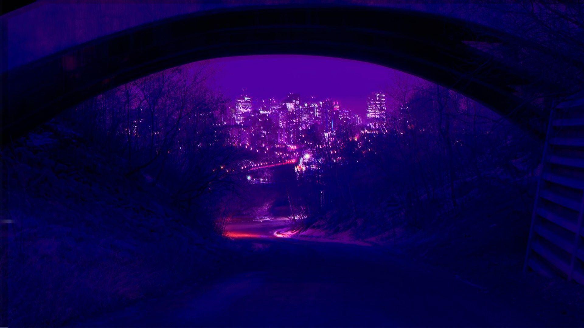 Purple Grunge Aesthetic Desktop Wallpapers Top Free Purple