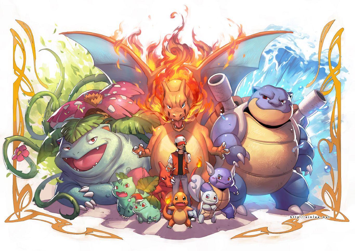 Pokemon Fan Art Wallpaper