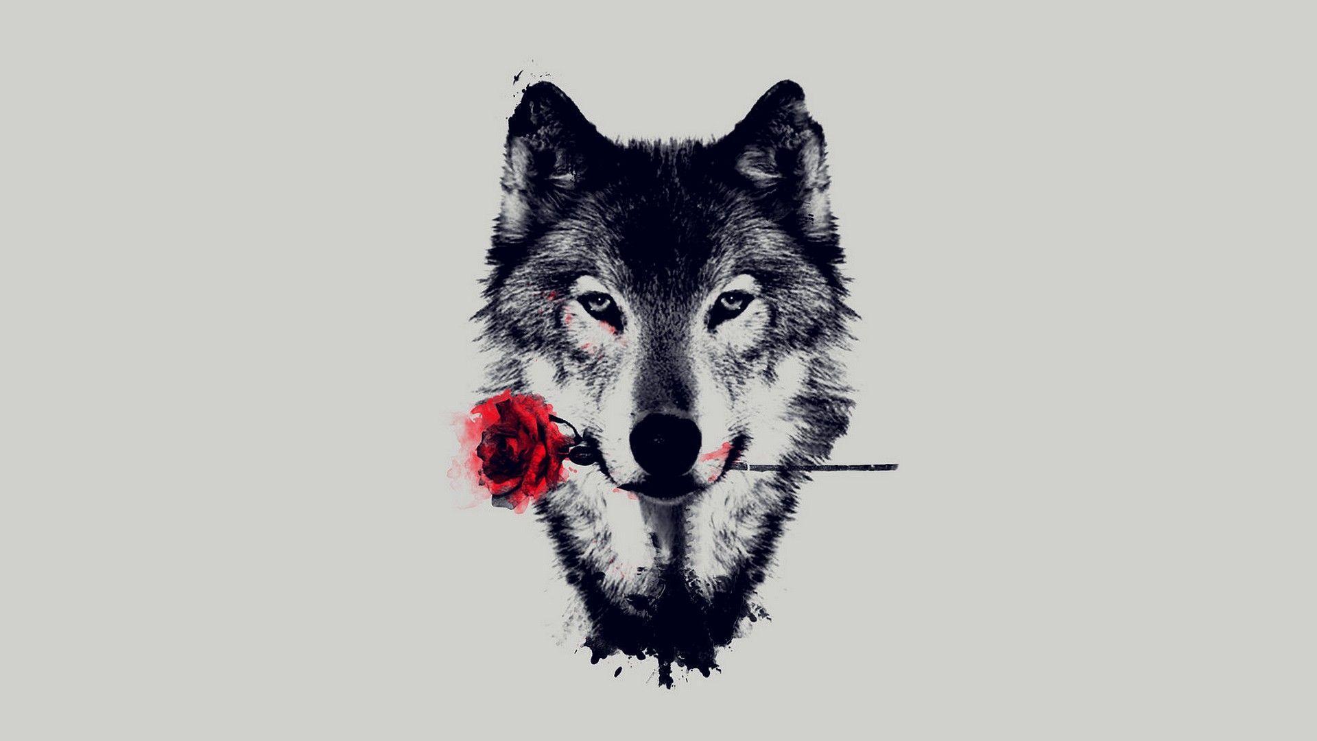 Wolf Art Wallpapers Top Free Wolf Art Backgrounds Wallpaperaccess