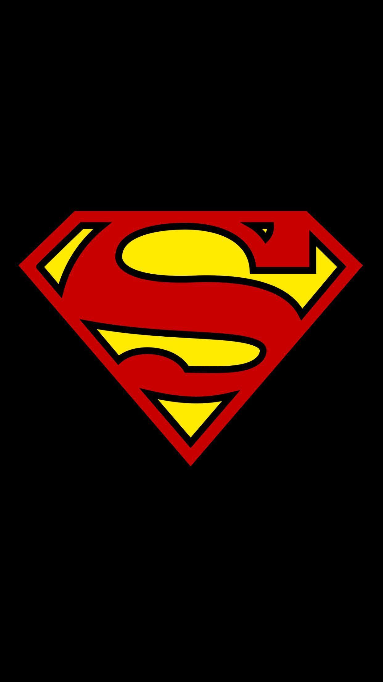 Superman Symbol Iphone Wallpapers Top Free Superman Symbol Iphone Backgrounds Wallpaperaccess