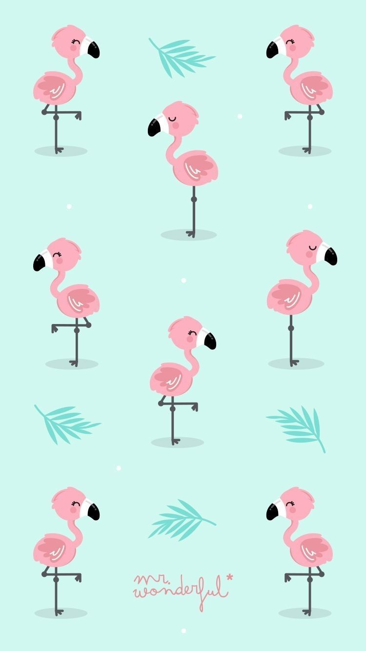 Cartoon Flamingo Wallpapers Top Free Cartoon Flamingo