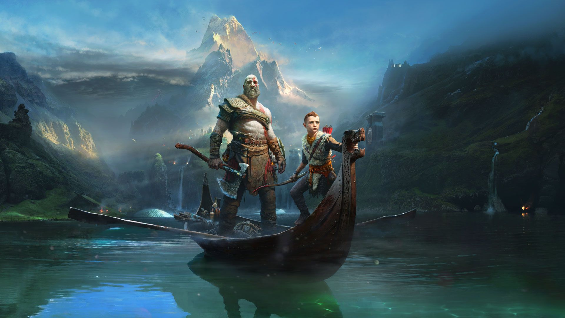 God Of War 2018 Wallpapers Top Free God Of War 2018