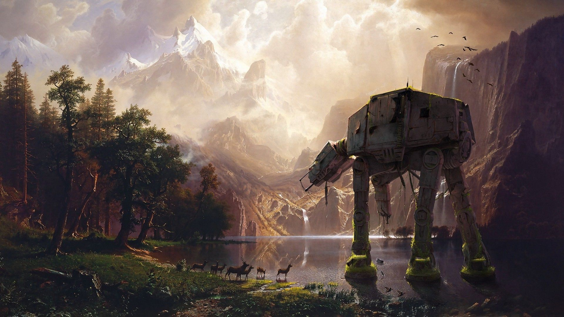 Star Wars Landscape Wallpapers Top Free Star Wars Landscape Backgrounds Wallpaperaccess
