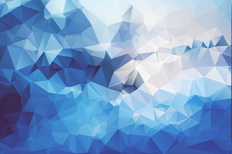 Blue Geometric 4K Wallpapers - Top Free Blue Geometric 4K ...