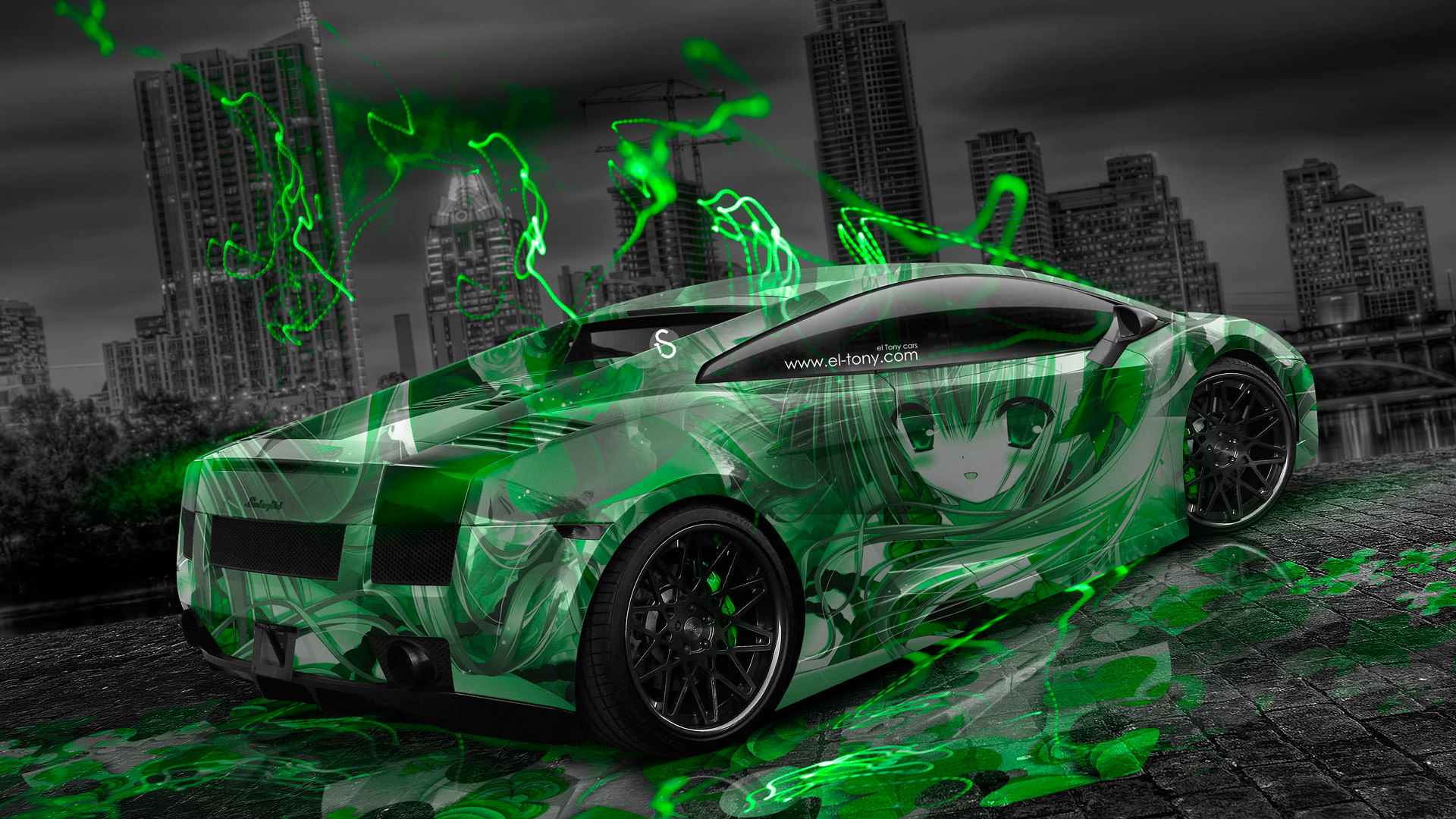 Neon Supercars Wallpapers - Top Free Neon Supercars ...
