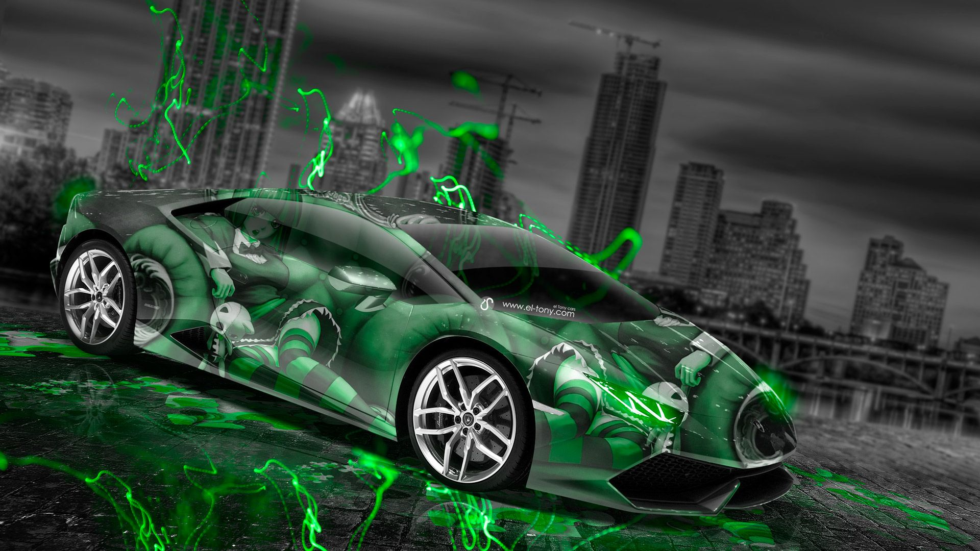 Green Lamborghini Wallpapers Top Free Green Lamborghini Backgrounds Wallpaperaccess