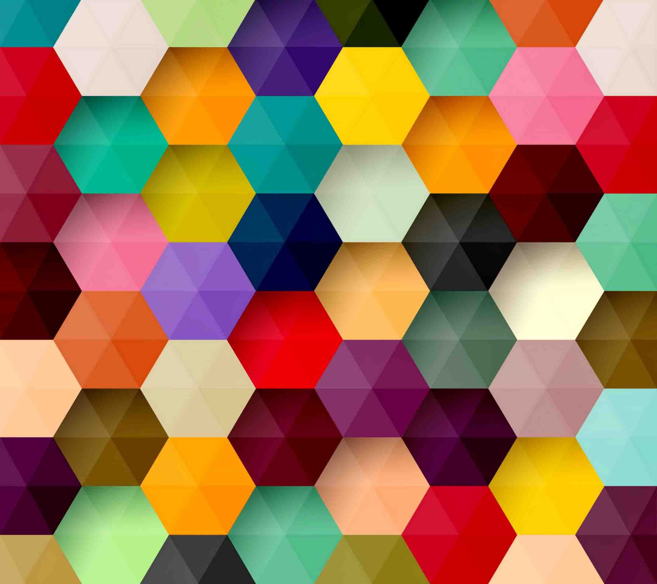 Free Colorful Geometric Wallpaper: Beautiful Geometric Wallpapers