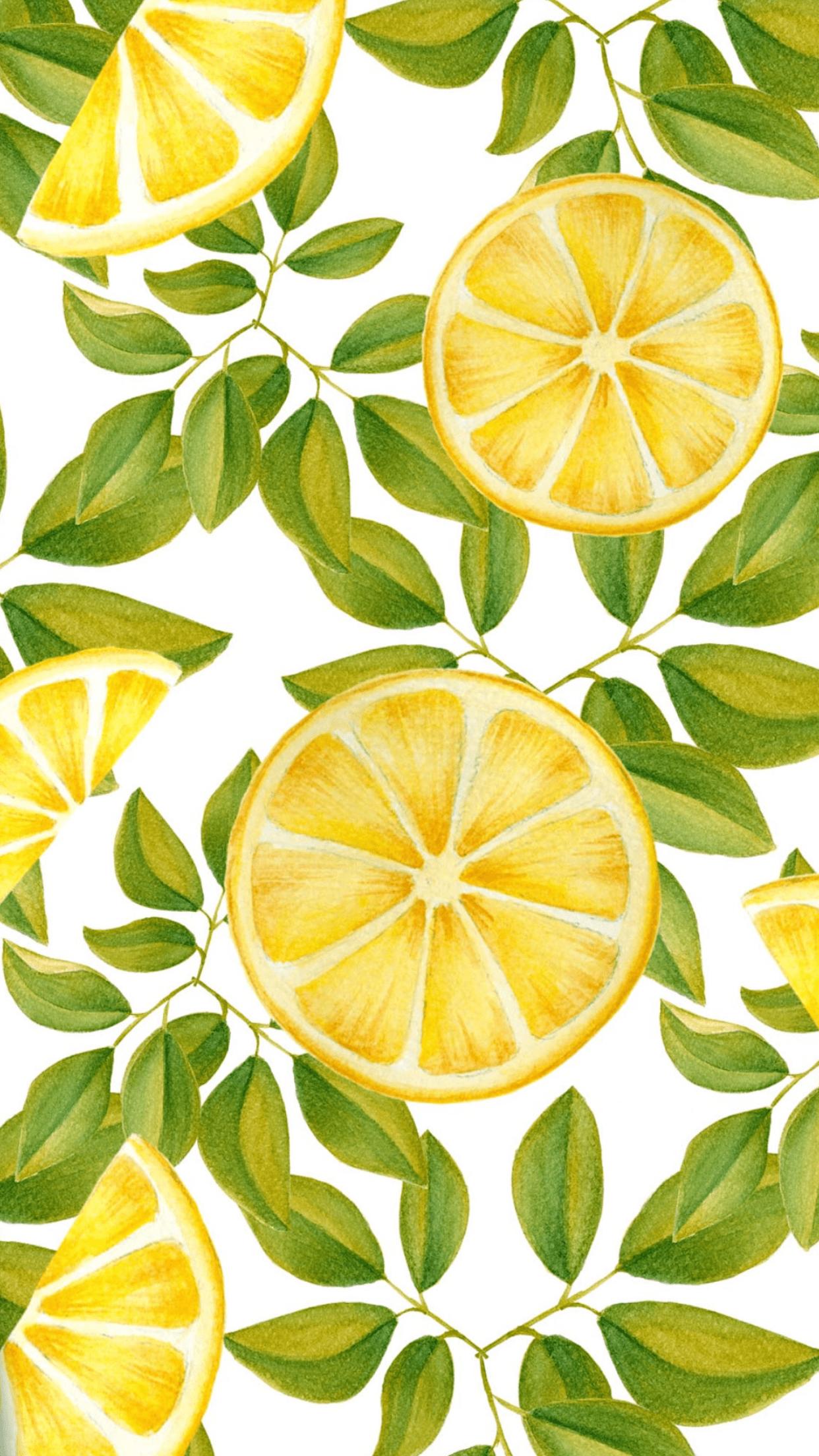 Aesthetic Lemon Wallpapers Top Free Aesthetic Lemon Backgrounds