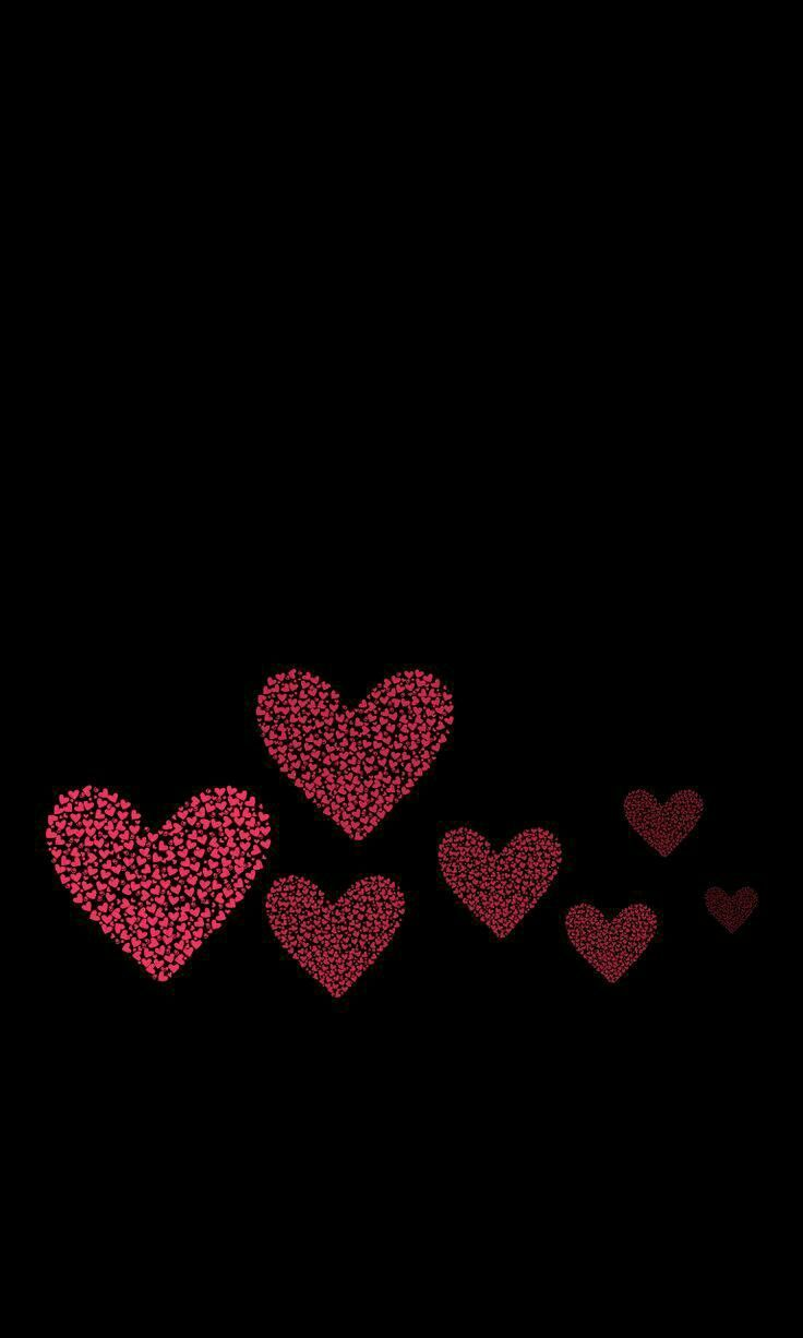 Cute Black Heart Wallpapers Top Free Cute Black Heart
