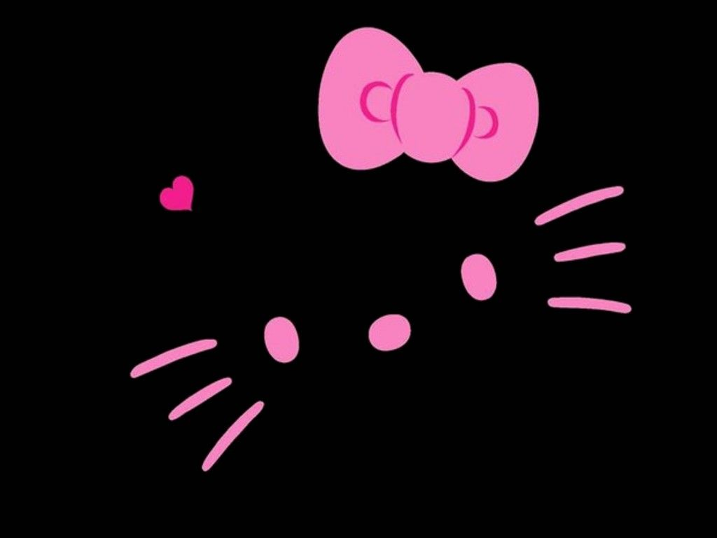 Black And Pink Hello Kitty Wallpapers Top Free Black And Pink