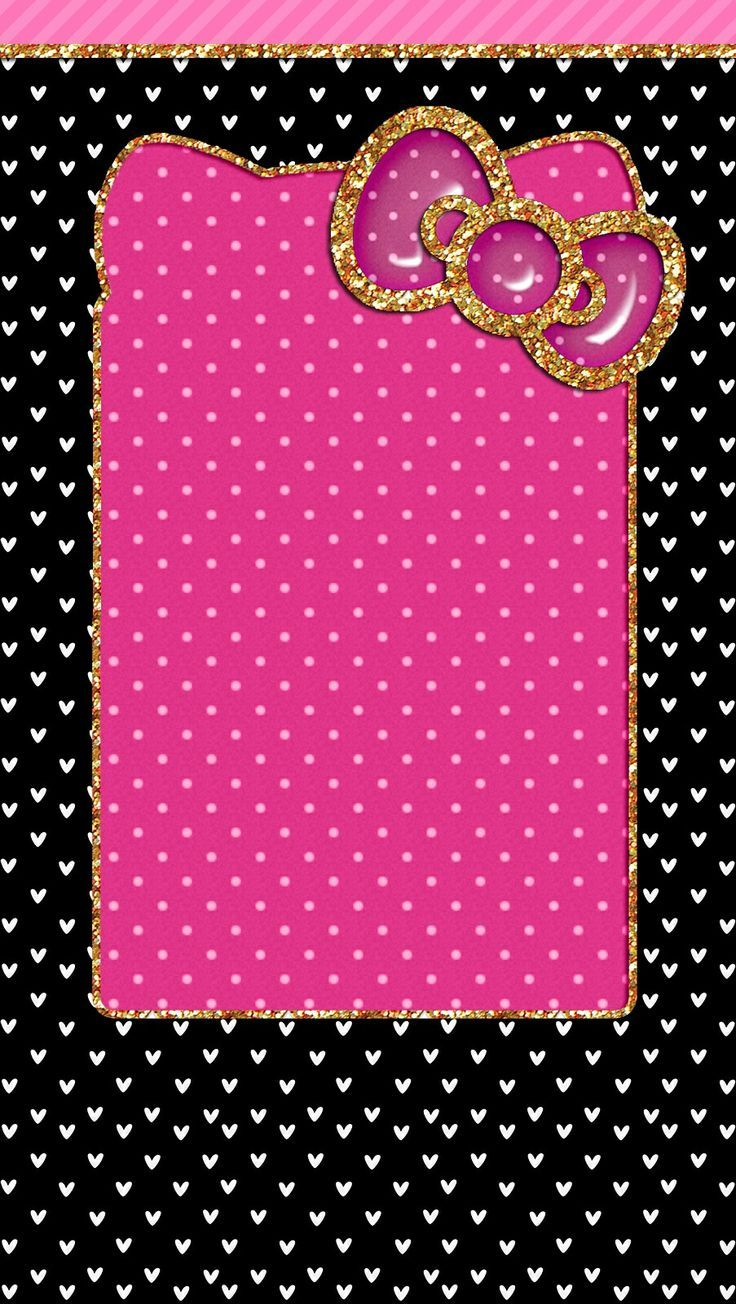 Black And Pink Hello Kitty Wallpapers Top Free Black And