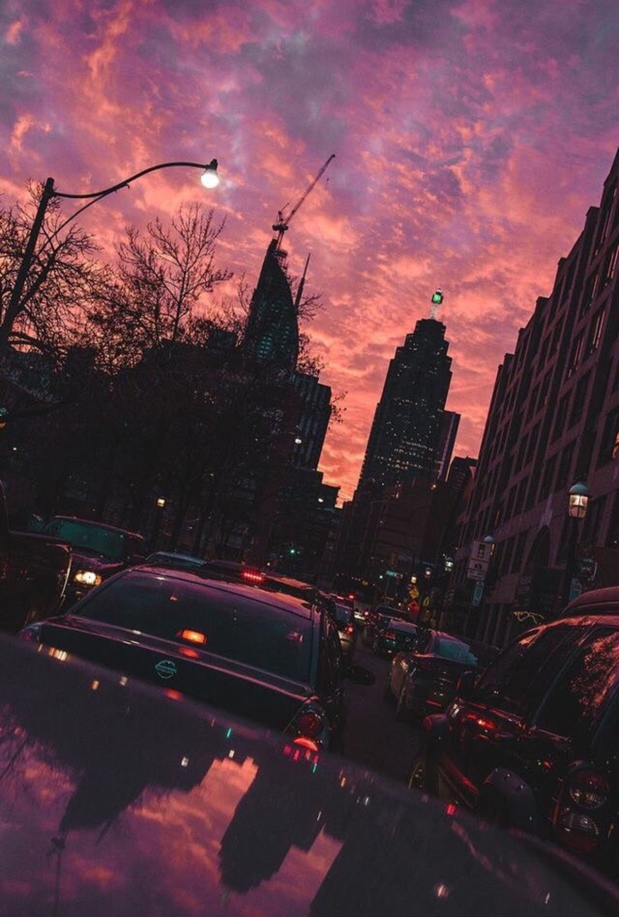 Aesthetic Sunset Iphone Wallpapers Top Free Aesthetic