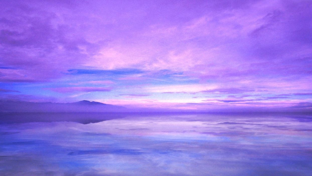 Purple Blue Sunset Wallpapers Top Free Purple Blue Sunset