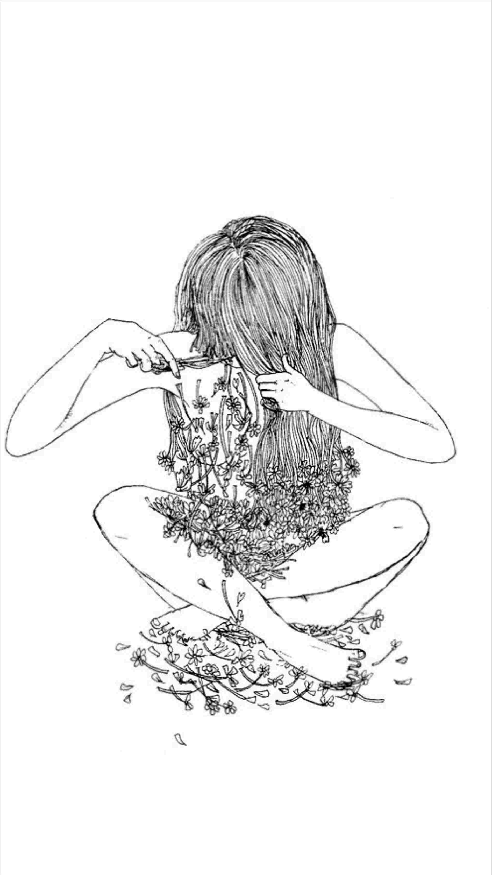 Hình nền 1899x3377 Cô gái Có Đôi cánh Vẽ Tumblr Dễ thương Cảm xúc Thẩm mỹ