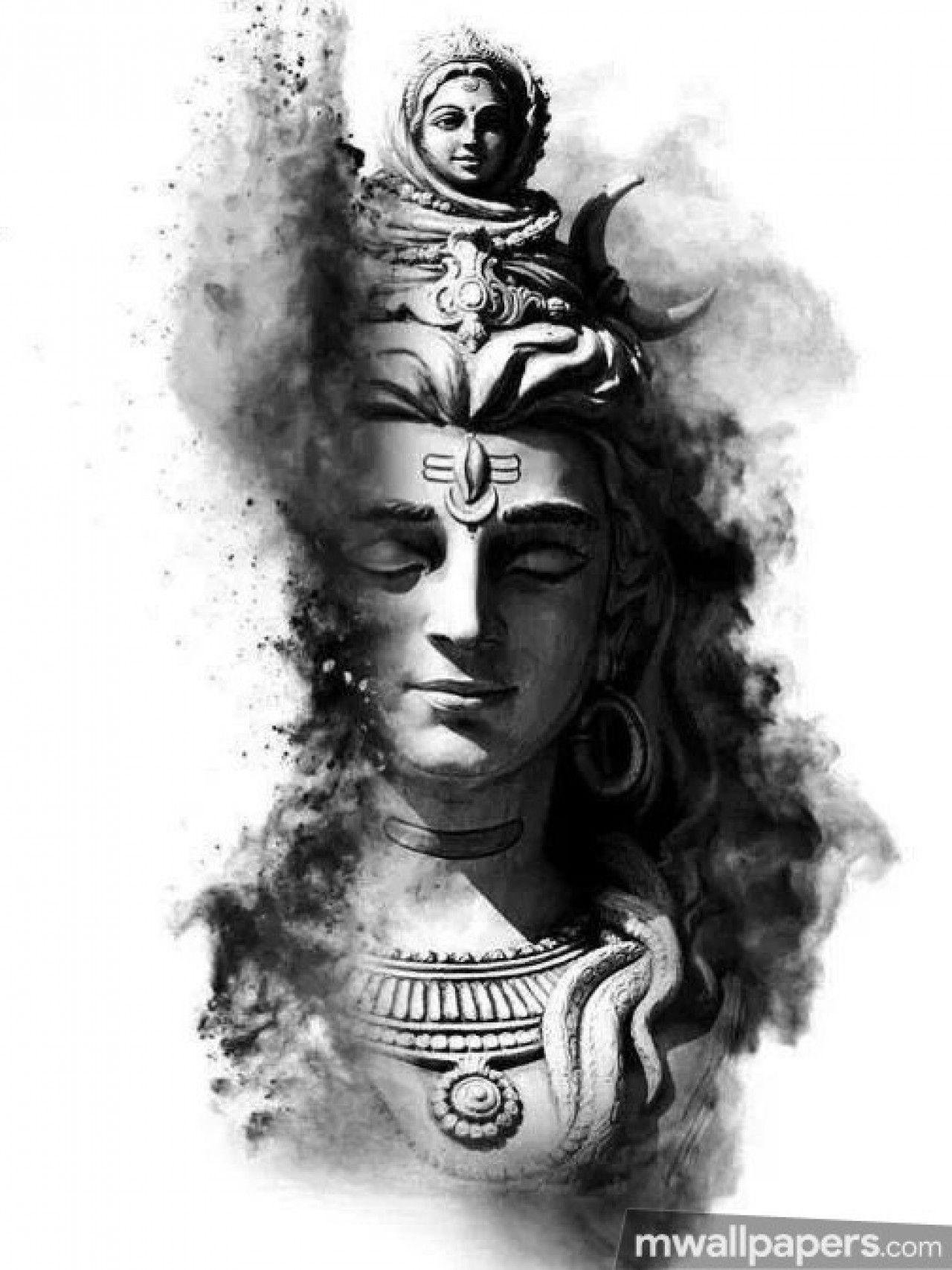 1280x1707 Hình nền đầy đủ HD của Chúa Shiva cho điện thoại di động