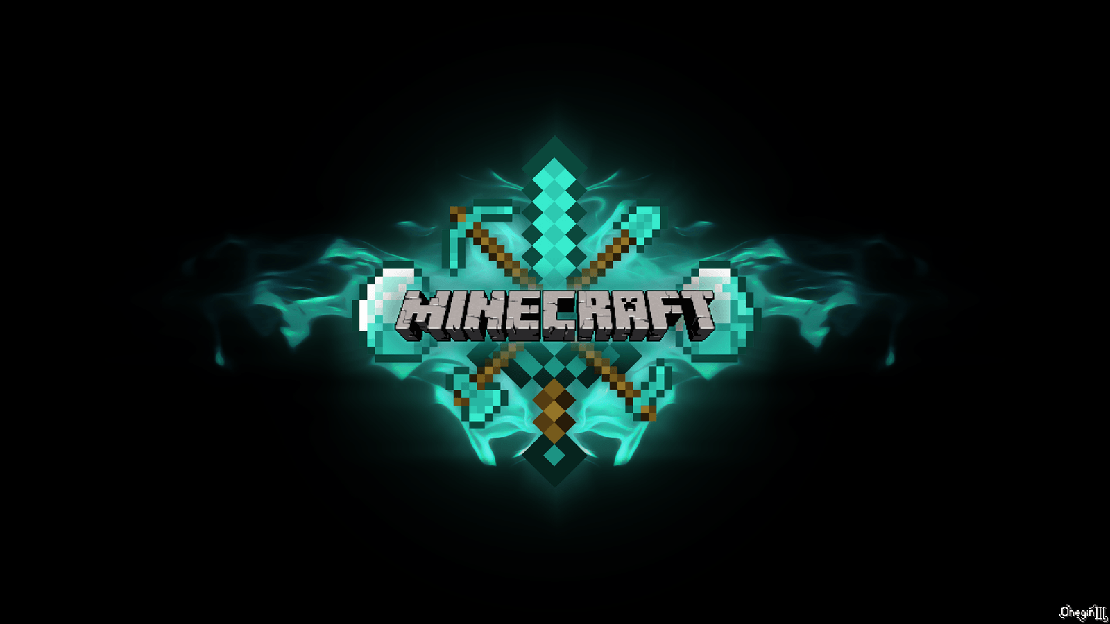 Minecraft Logo Wallpapers Top Free Minecraft Logo Backgrounds