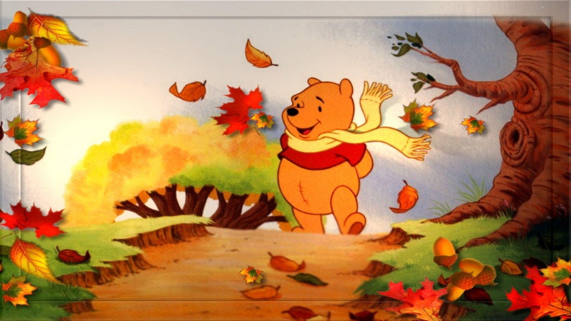 Disney Fall Wallpapers Top Free Disney Fall Backgrounds Wallpaperaccess