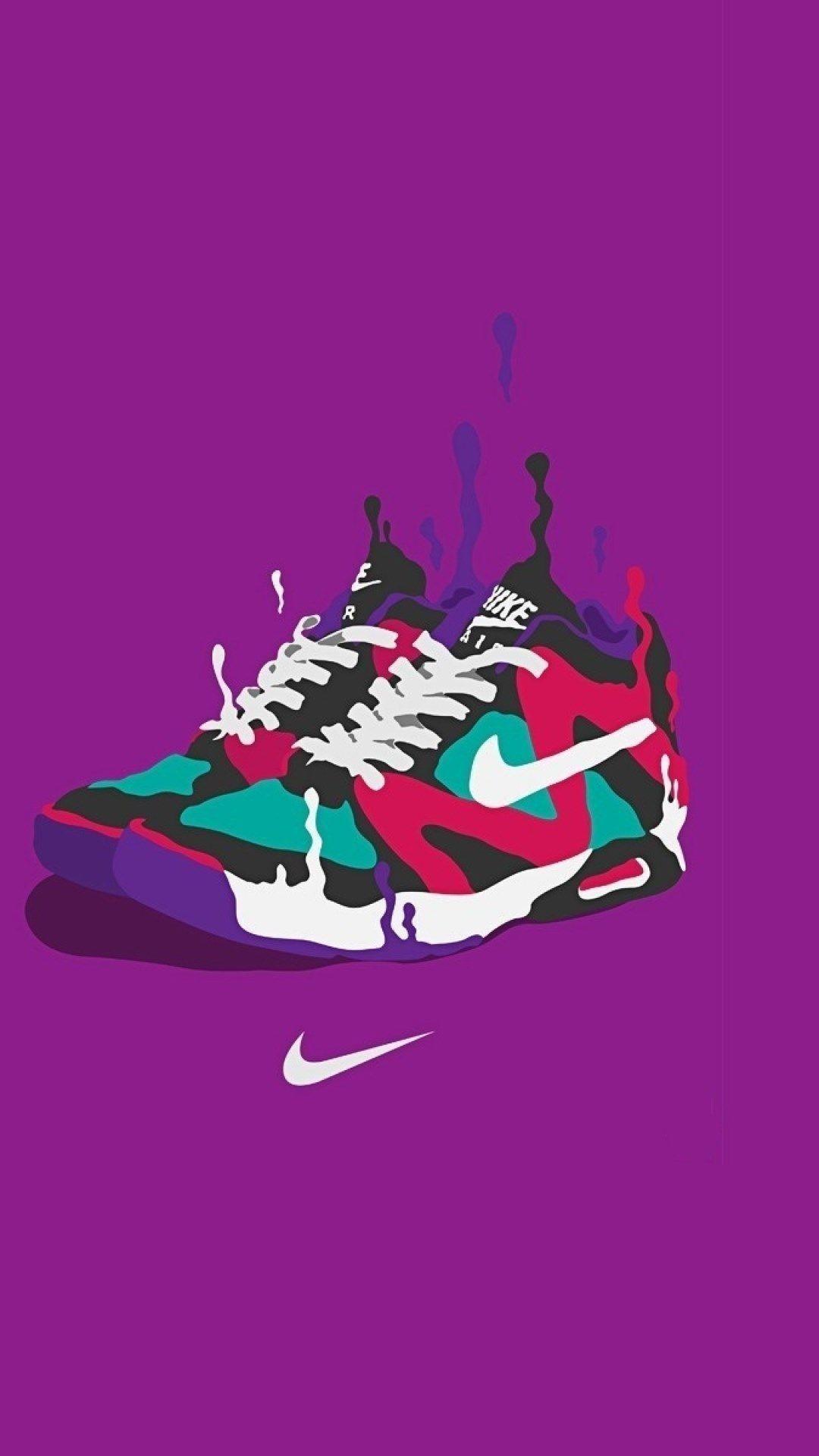 Nike Cartoon iPhone Wallpapers - Top