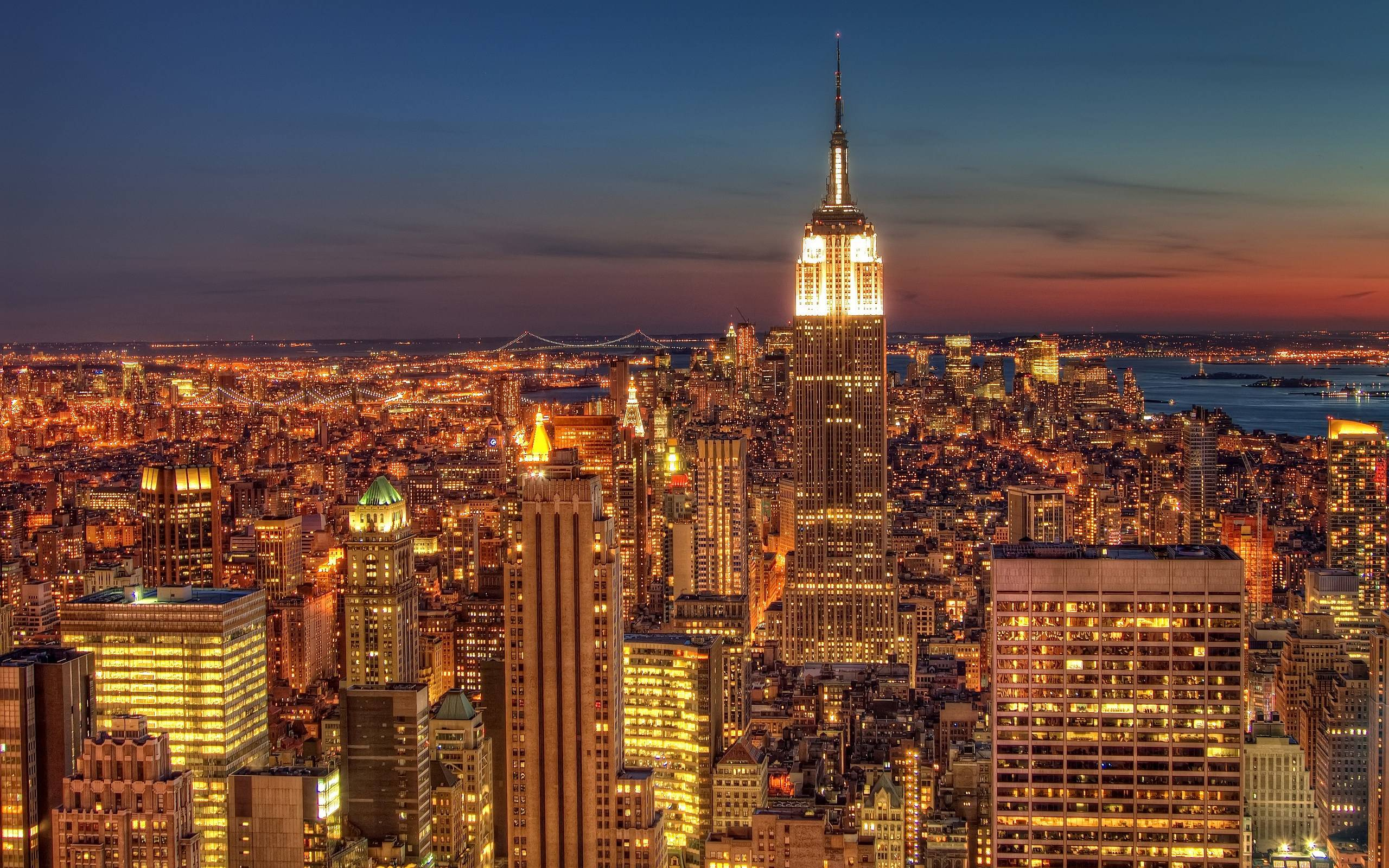 New York City Night Wallpapers Top Free New York City Night