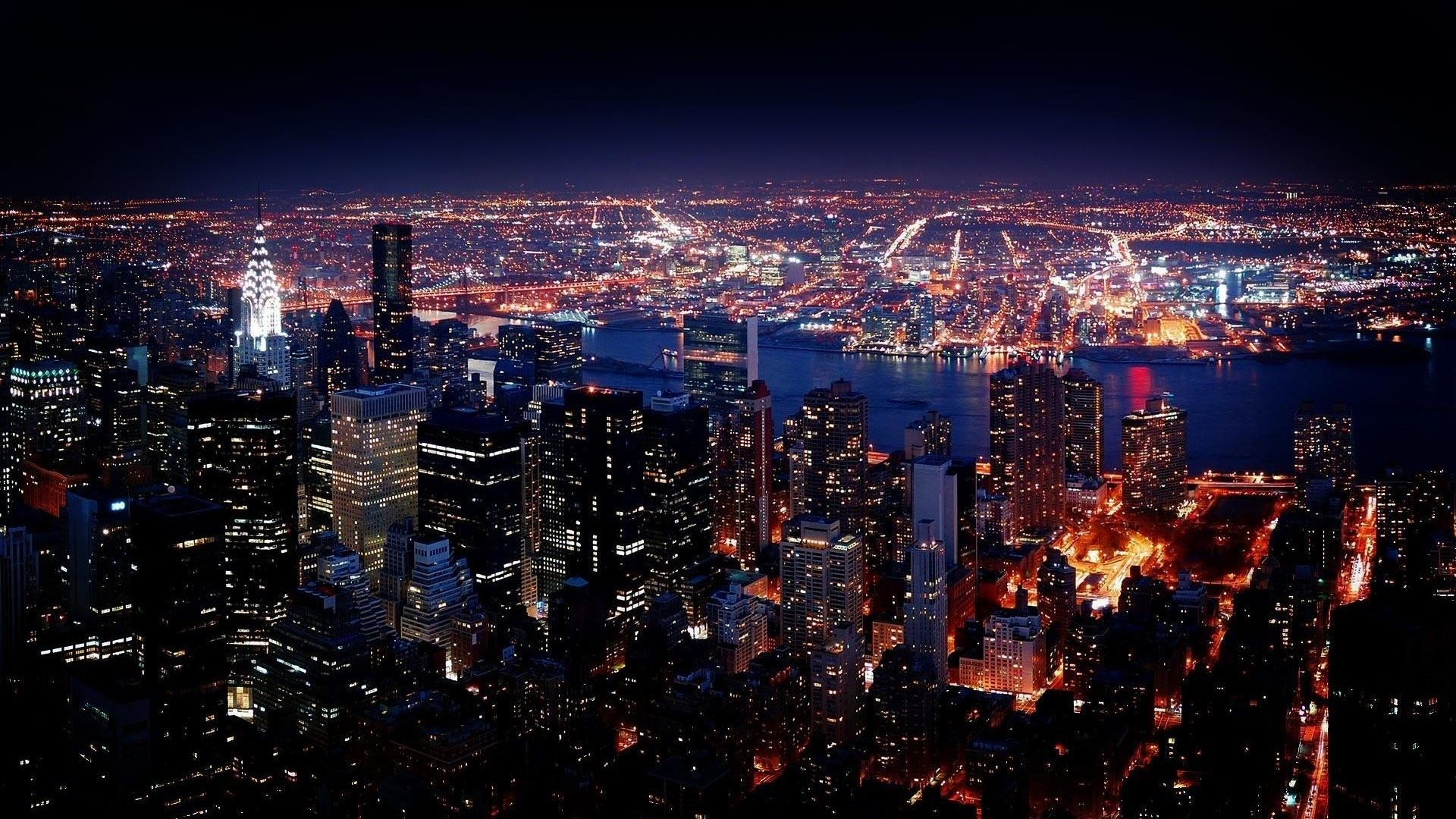 New York Wallpaper Hd Night