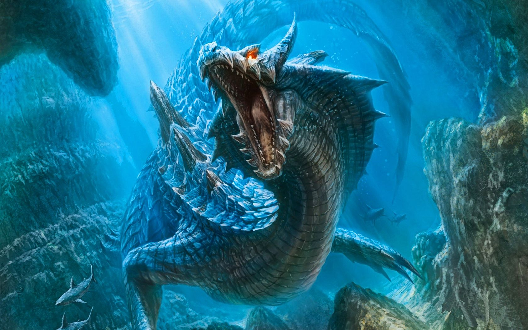 Beautiful Water Dragon Wallpapers Top Free Beautiful Water