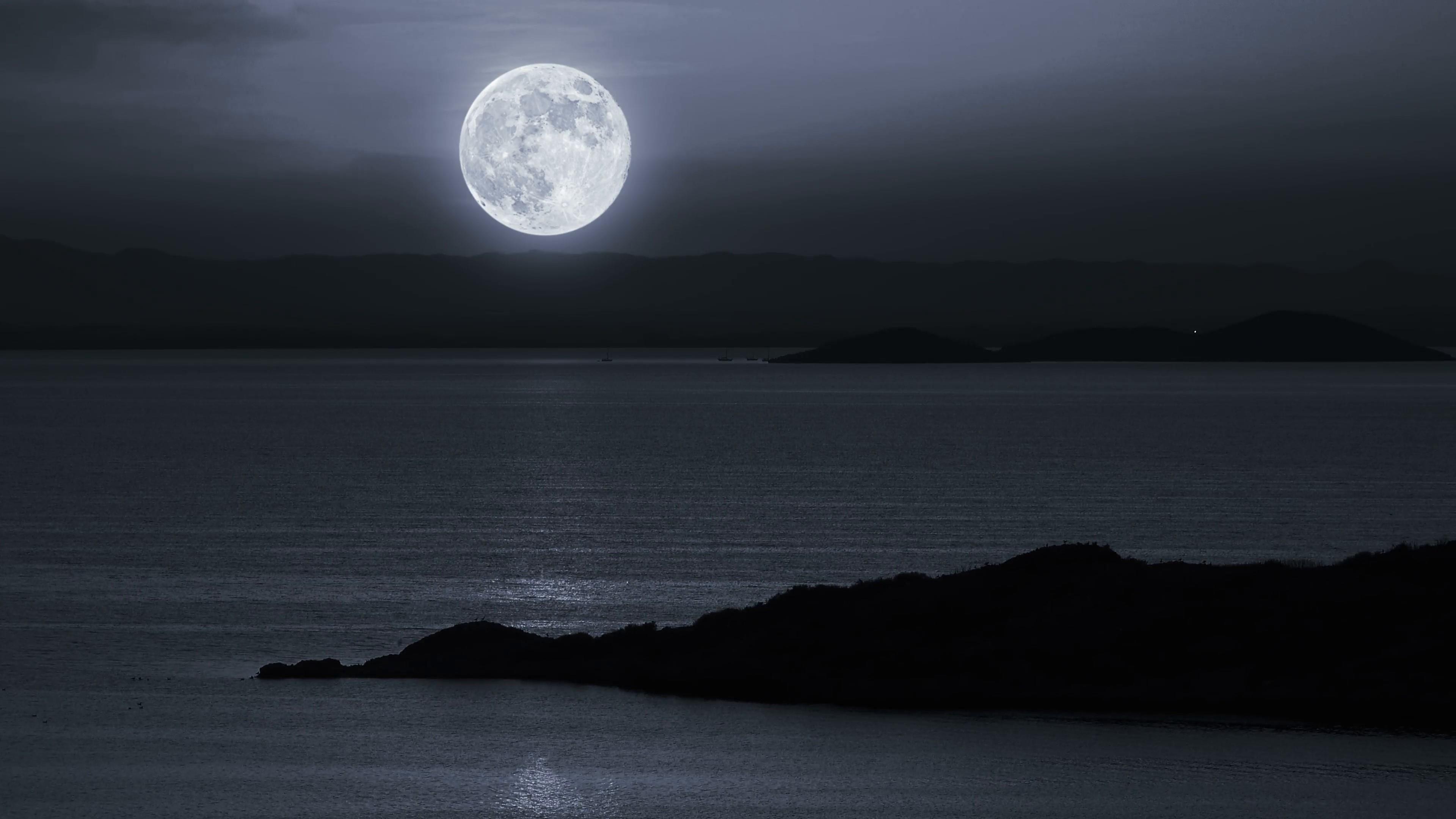 луна и море фото картинки моделями знакомыми ранее