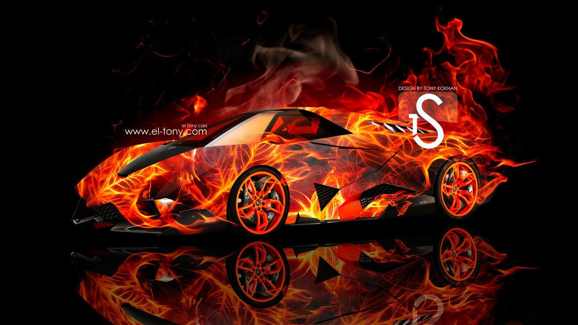 Lamborghini On Fire Wallpapers Top Free Lamborghini On Fire