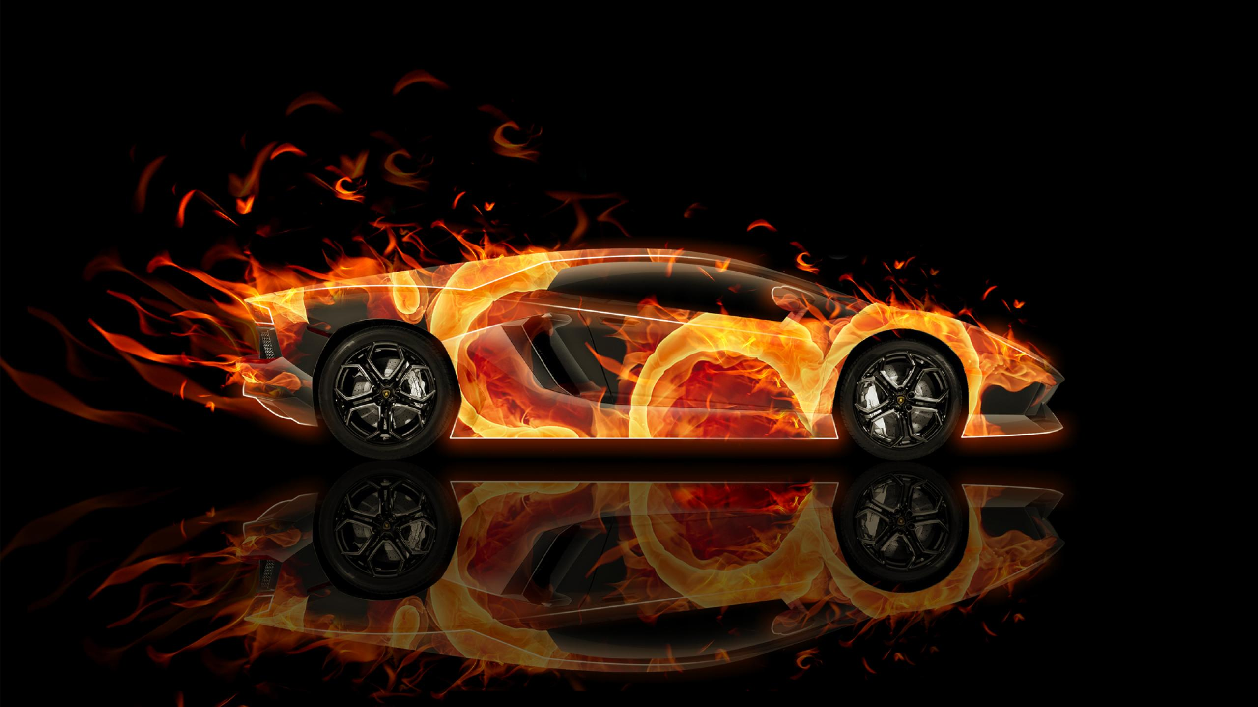 Lamborghini On Fire Wallpapers , Top Free Lamborghini On