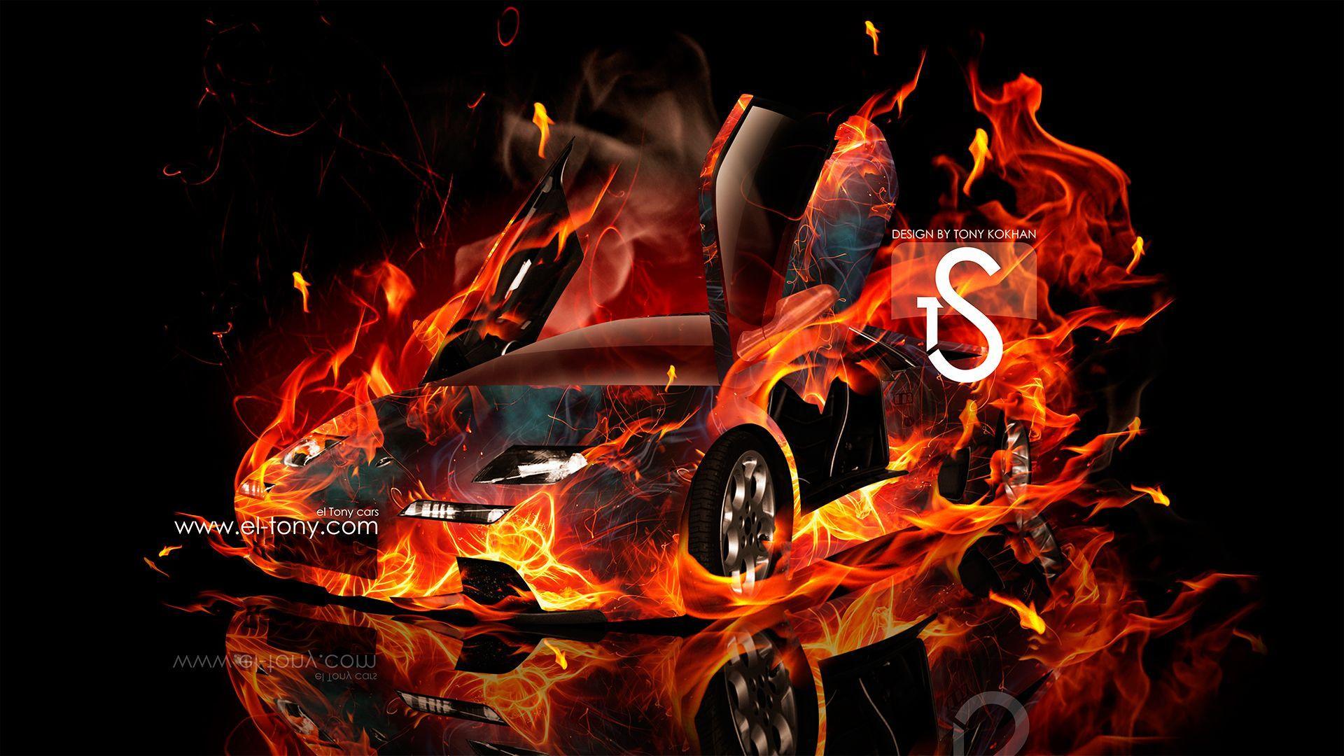 Lamborghini On Fire Wallpapers , Top Free Lamborghini On