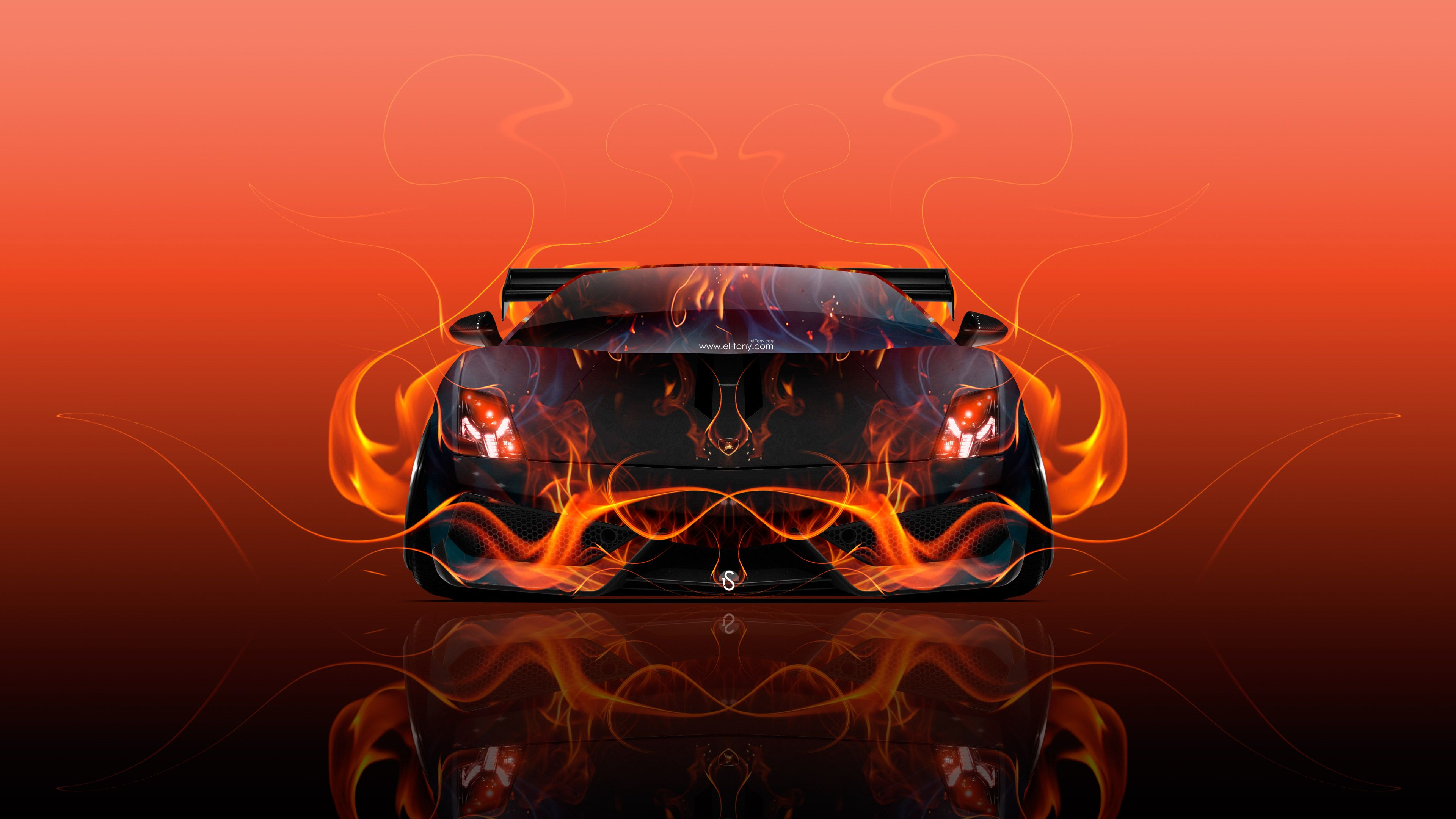 Lamborghini On Fire Wallpapers - Top Free Lamborghini On ...