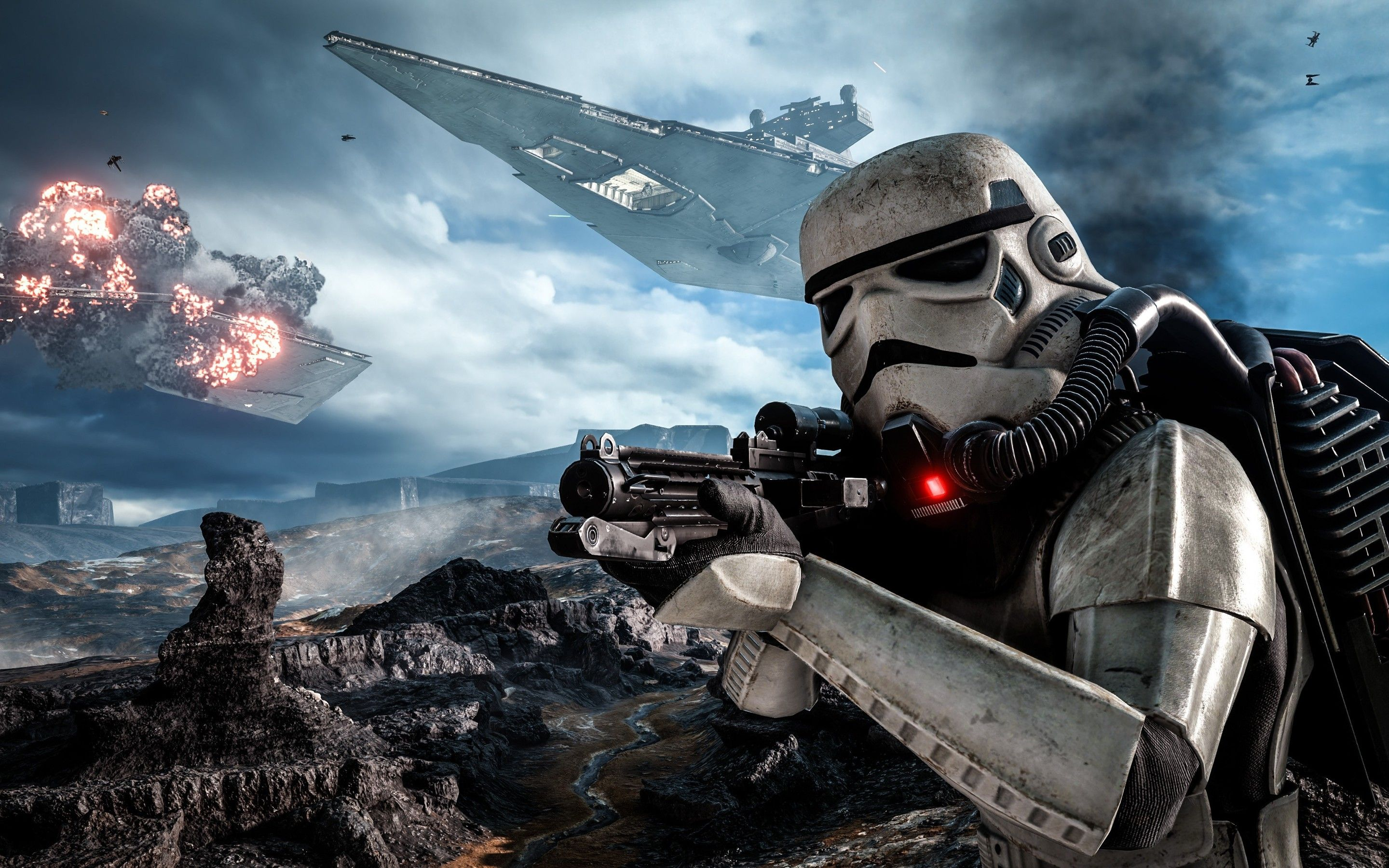 Star Wars Battlefront Wallpapers Top Free Star Wars