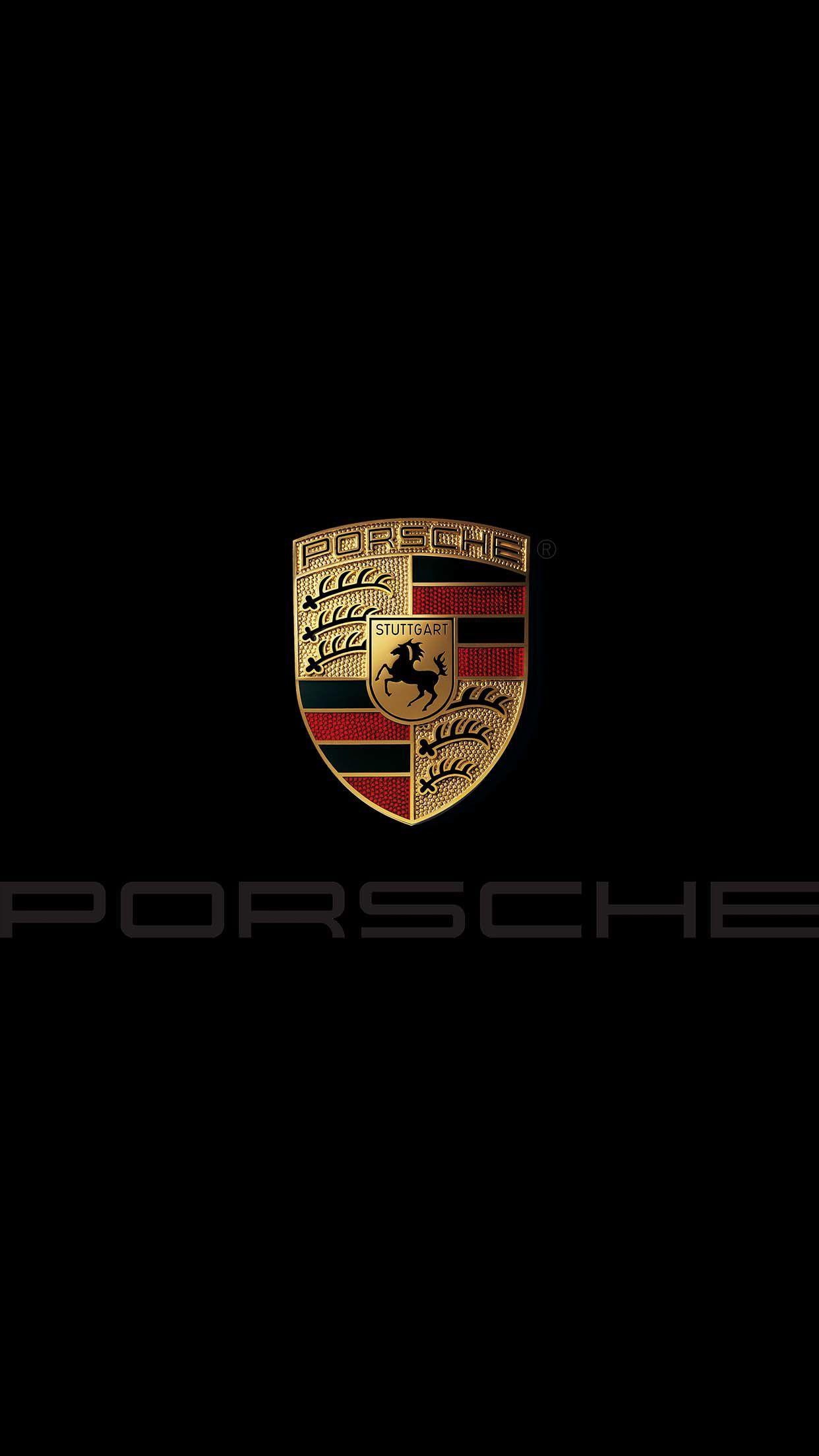 Porsche Logo Wallpapers Top Free Porsche Logo Backgrounds Wallpaperaccess