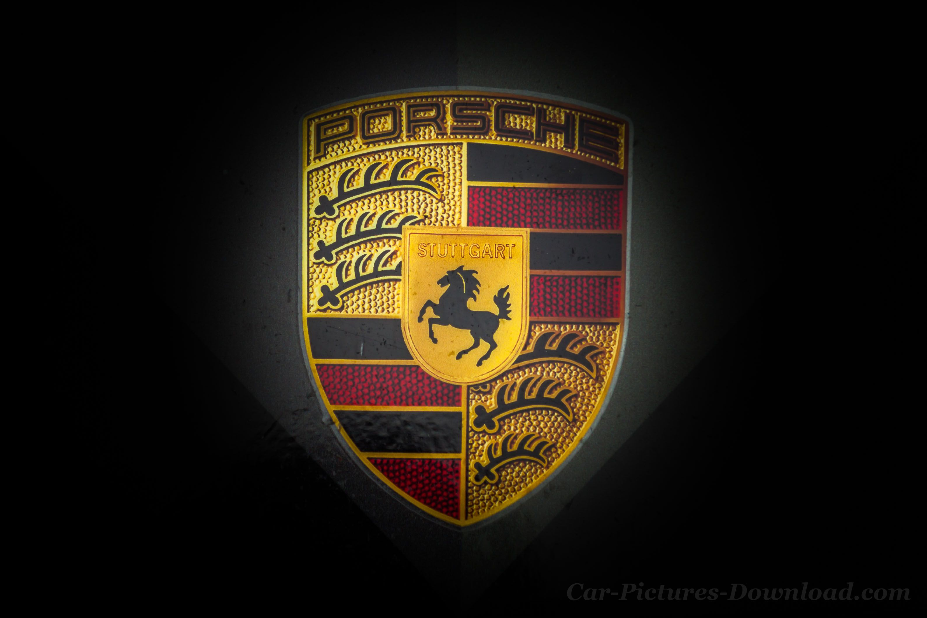 Porsche Logo Wallpapers Top Free Porsche Logo Backgrounds Wallpaperaccess