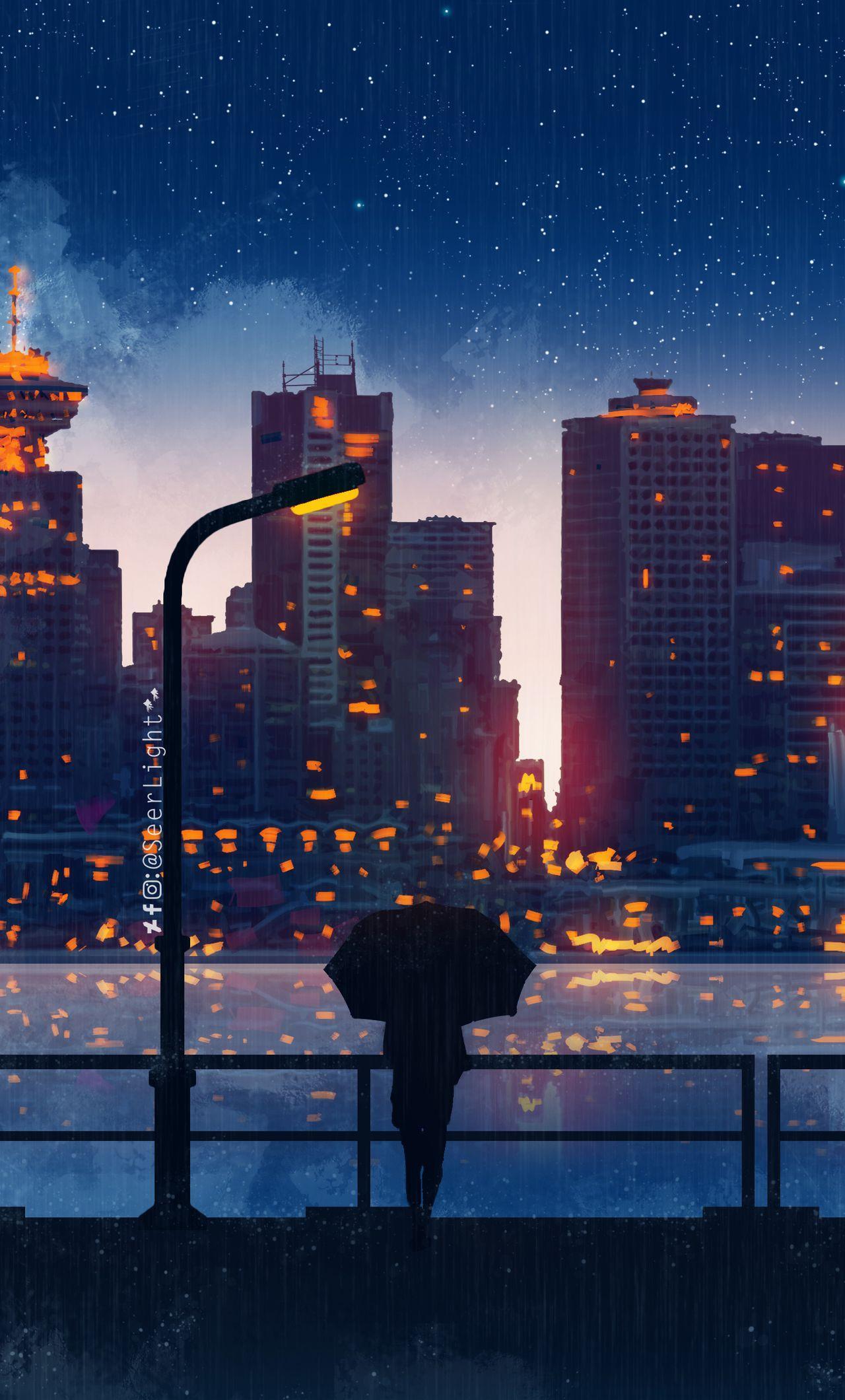 Anime Night City Wallpapers - Top Free Anime Night City ...