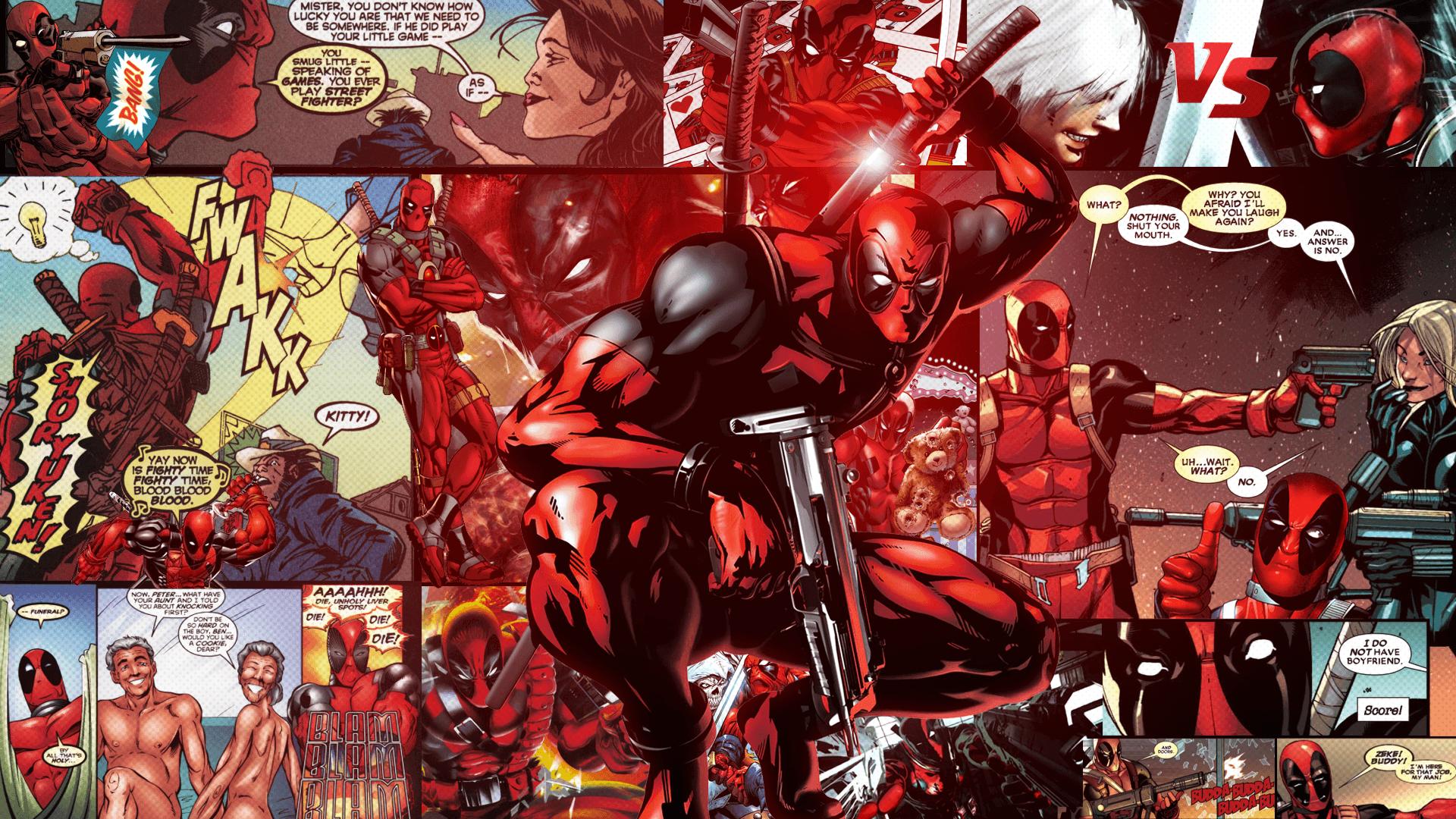 49 Best Free Comic Book Deadpool Wallpapers