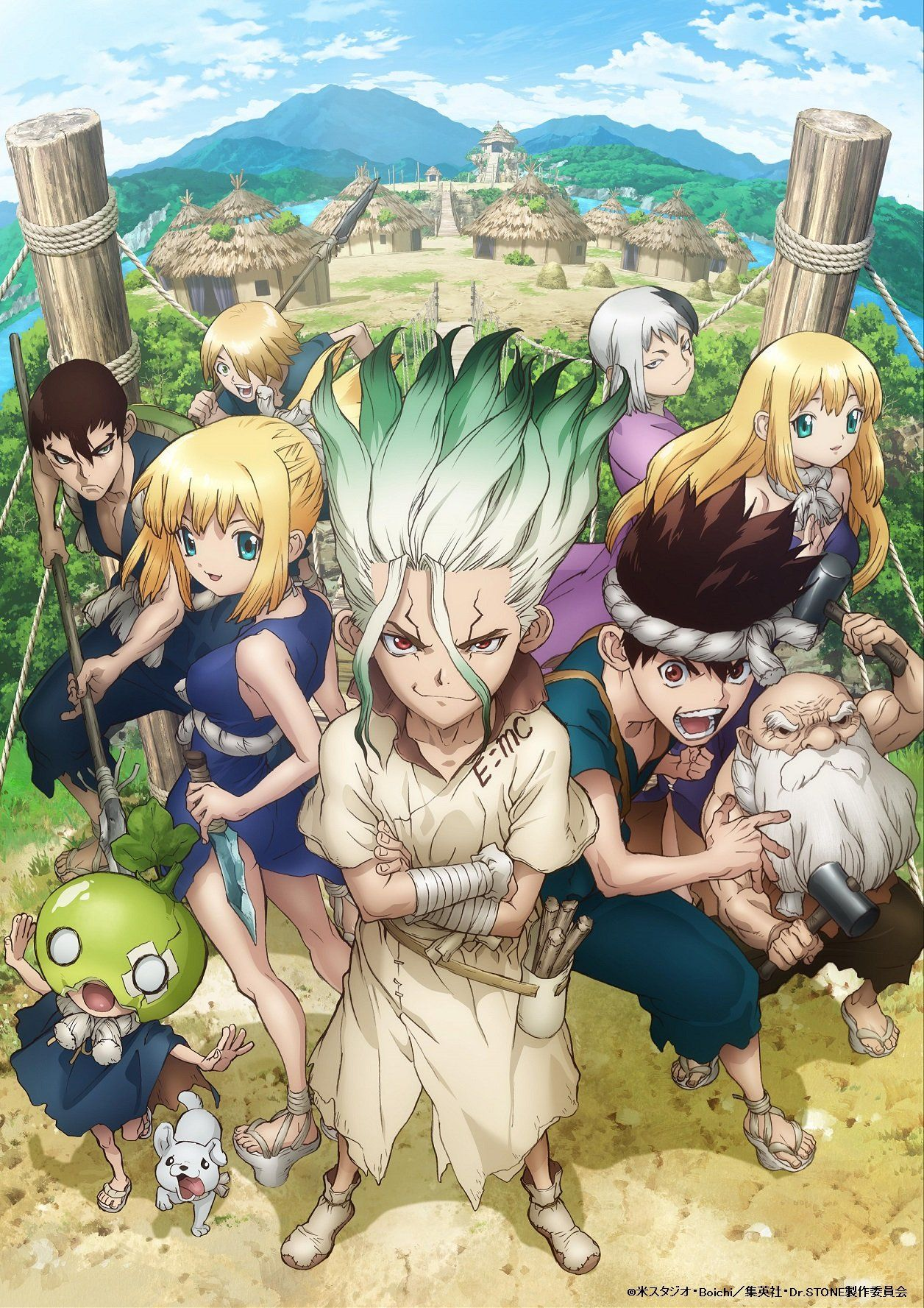 Dr. Stone Wallpapers - Top Free Dr. Stone Backgrounds ...