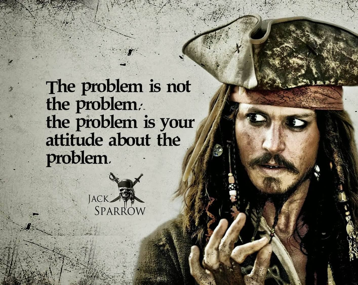 Captain Jack Sparrow Quotes Wallpapers - Top Free Captain ...