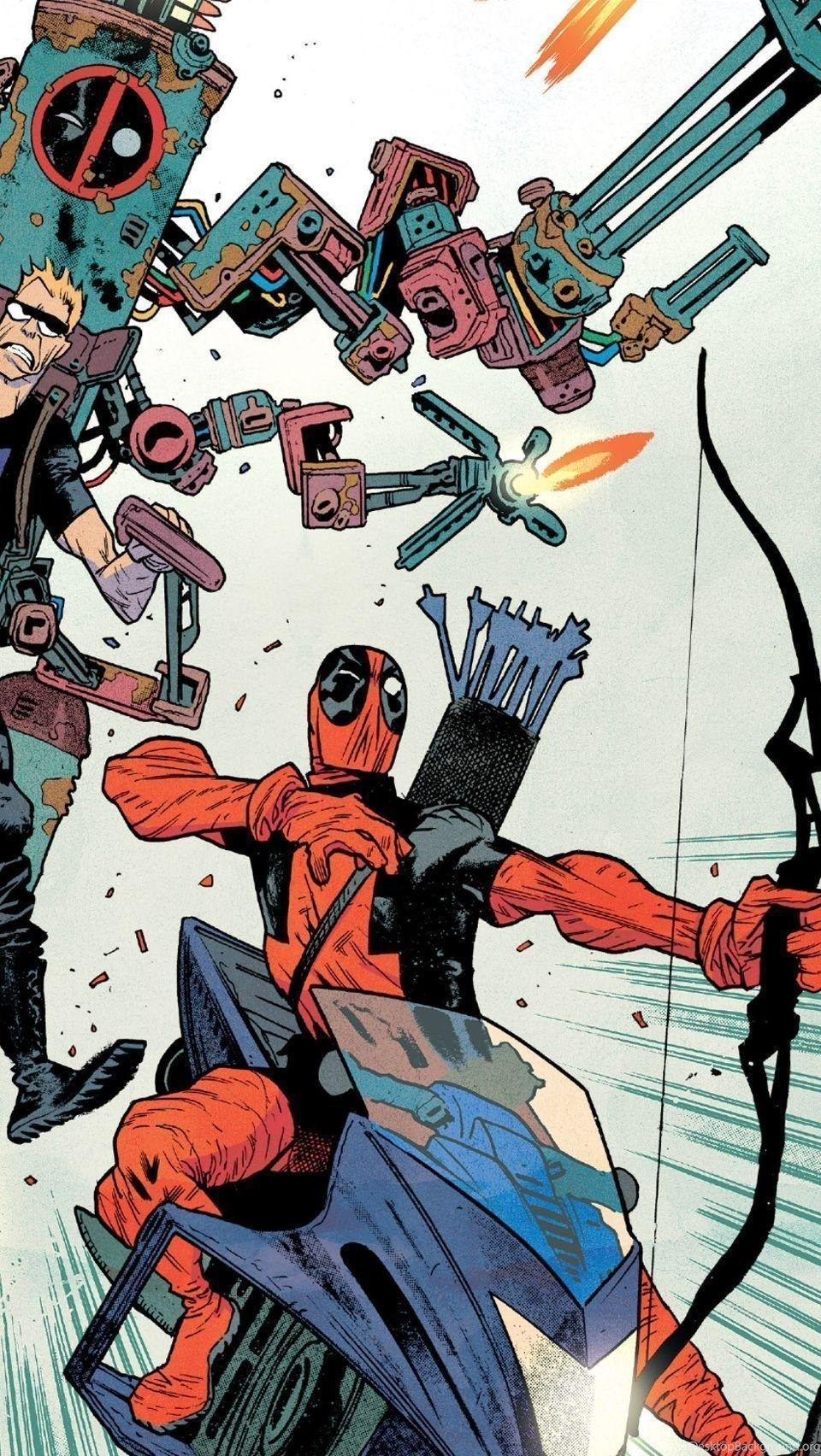 Comic Book Deadpool Wallpapers Top Free Comic Book Deadpool