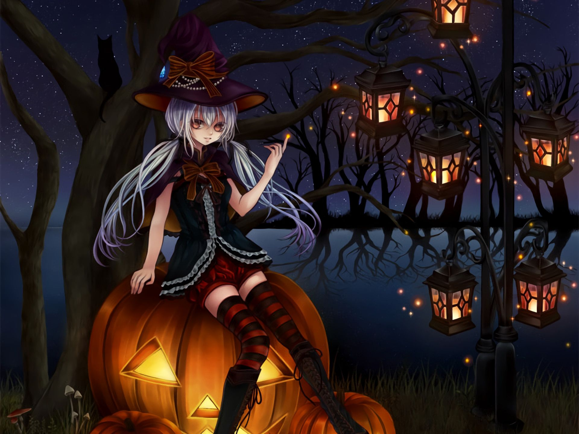 Anime Witch Wallpapers - Top Free Anime Witch Backgrounds ...